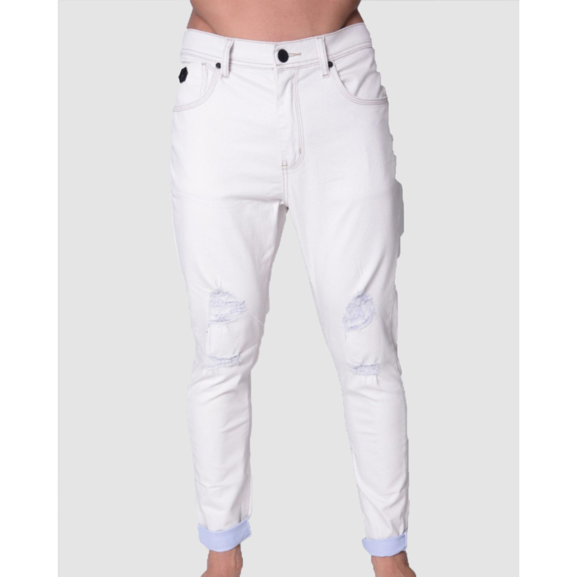 Calça Buh Jeans White & White