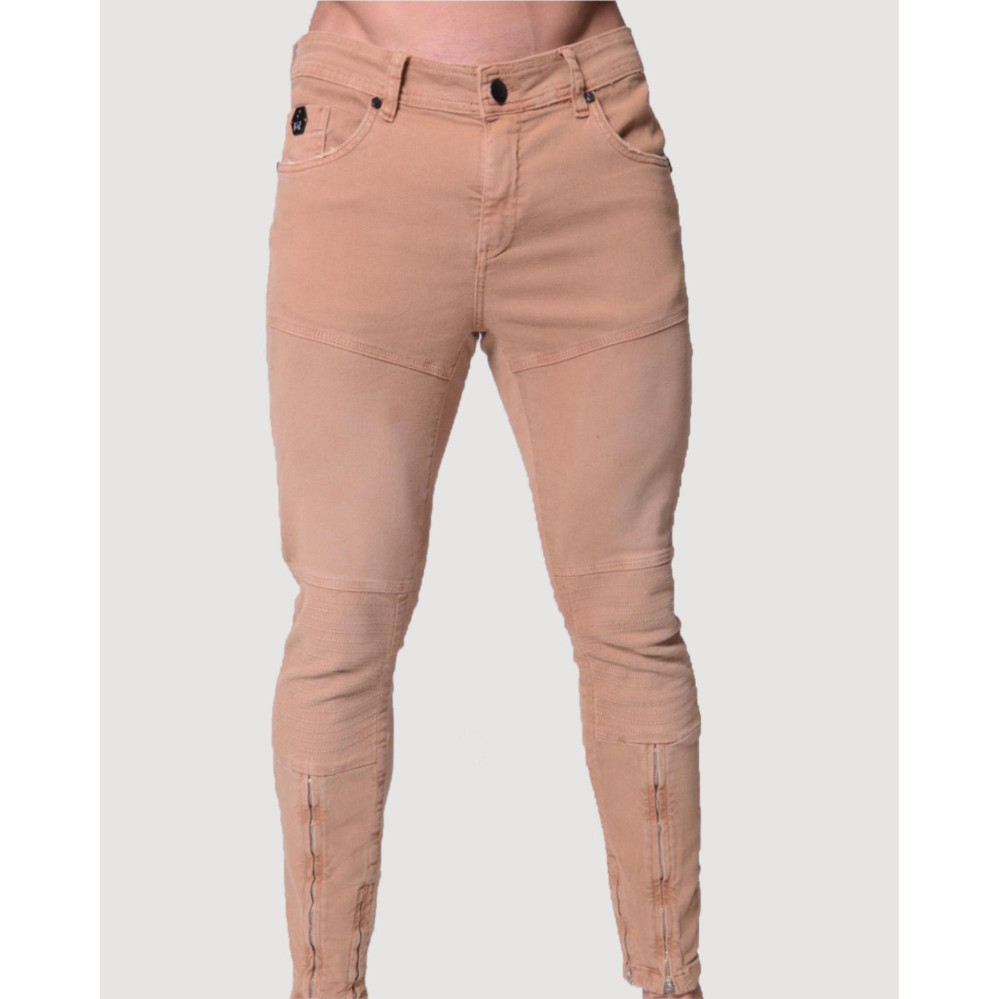 Calça Buh Jeans Zíper Marrom