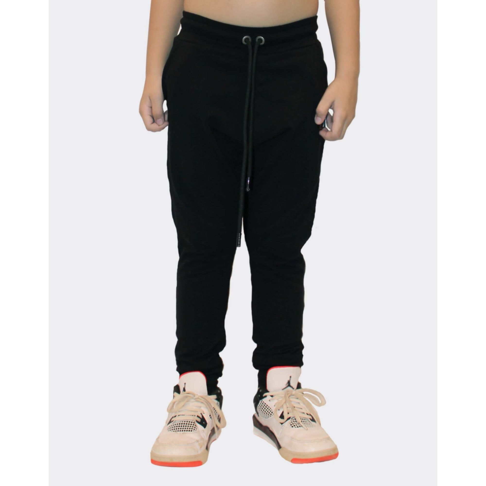 Calça Buh Kids Moletom Black