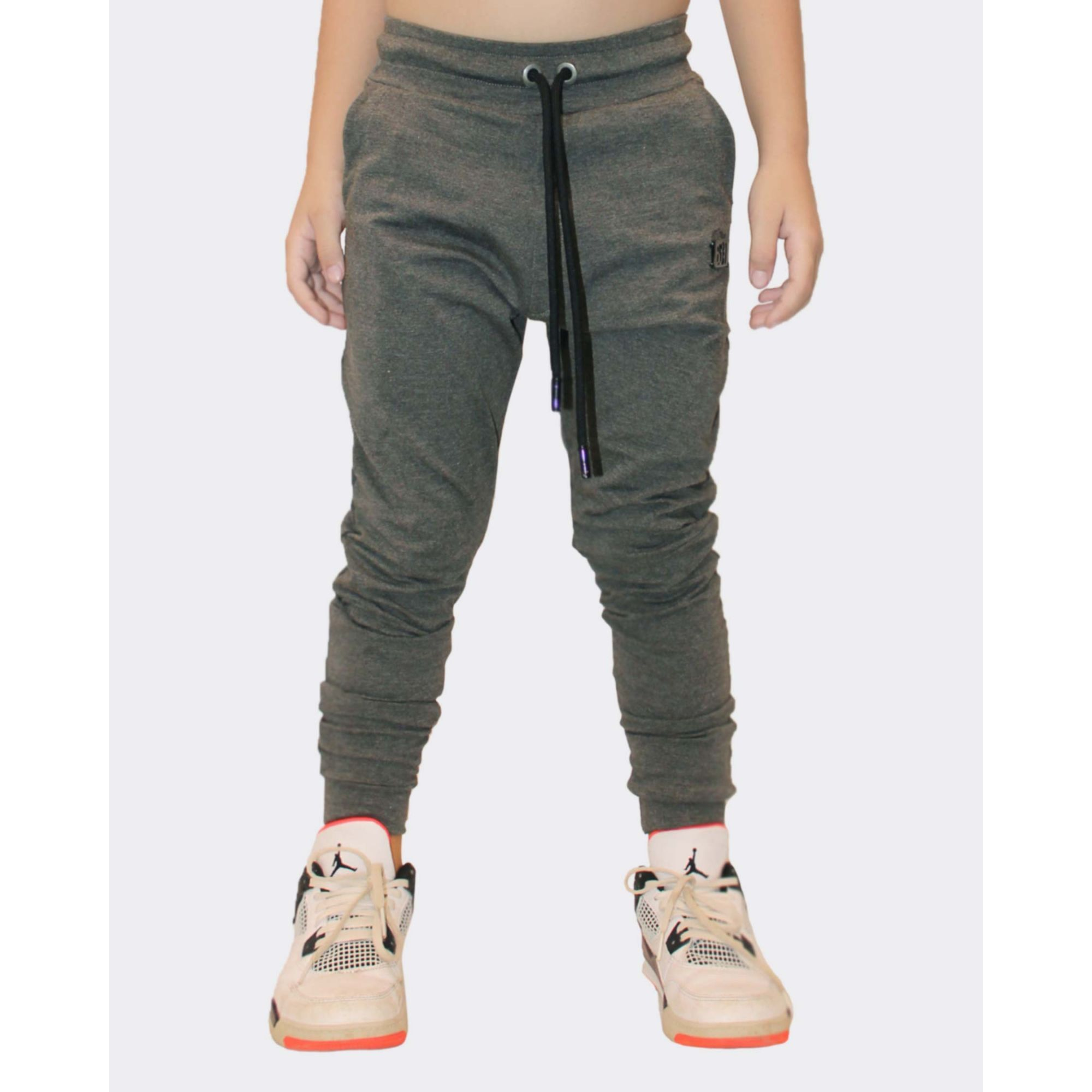 Calça Buh Kids Moletom Grey