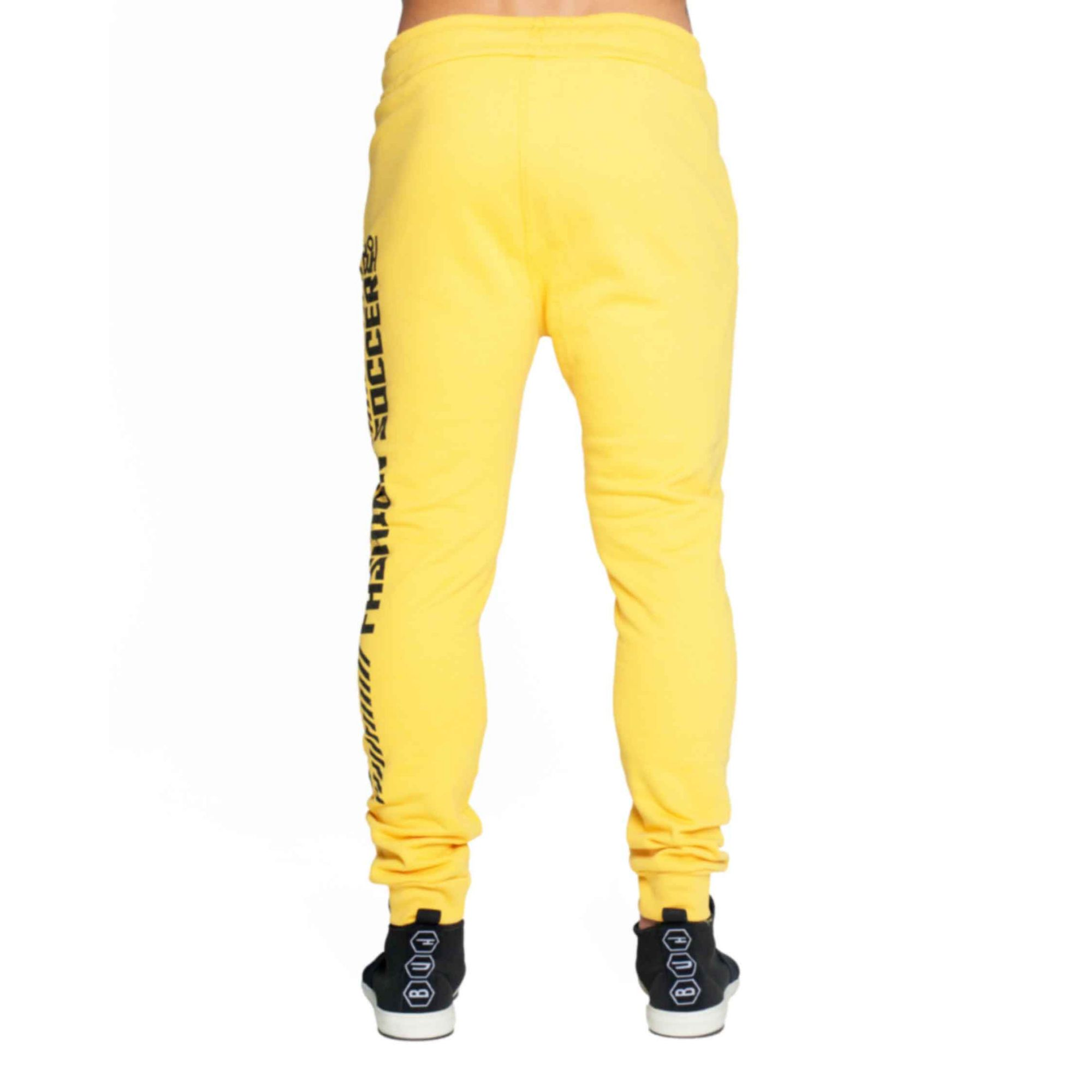 Calça Buh Side Stripes Yellow