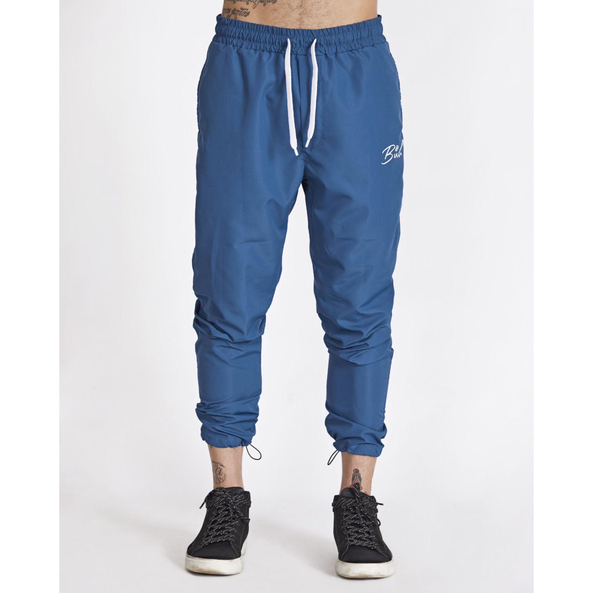 Calça Buh Tactel Blue & Rose