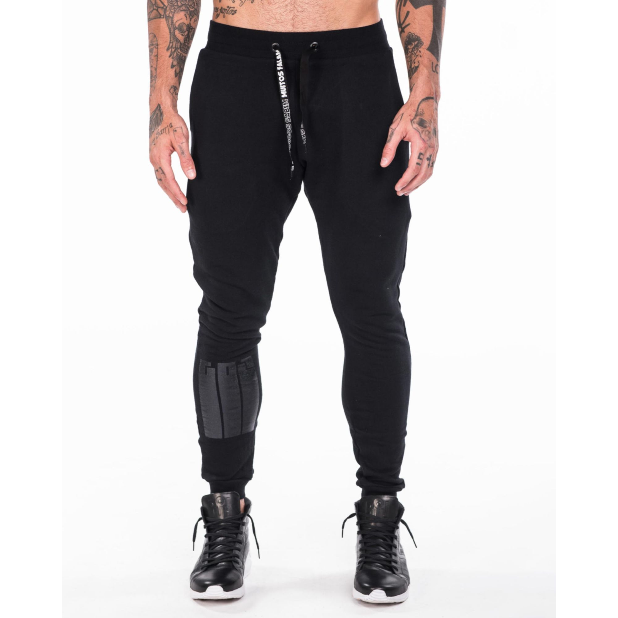 Calça Gol By Buh Foil Black