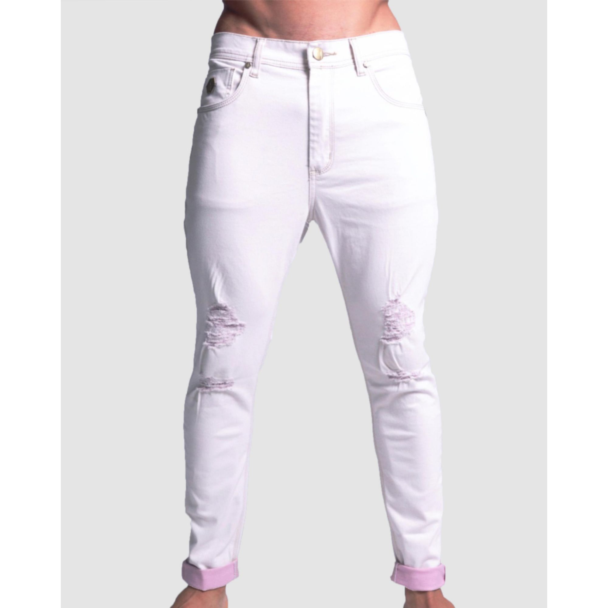 Calça Jeans Buh Skinny White