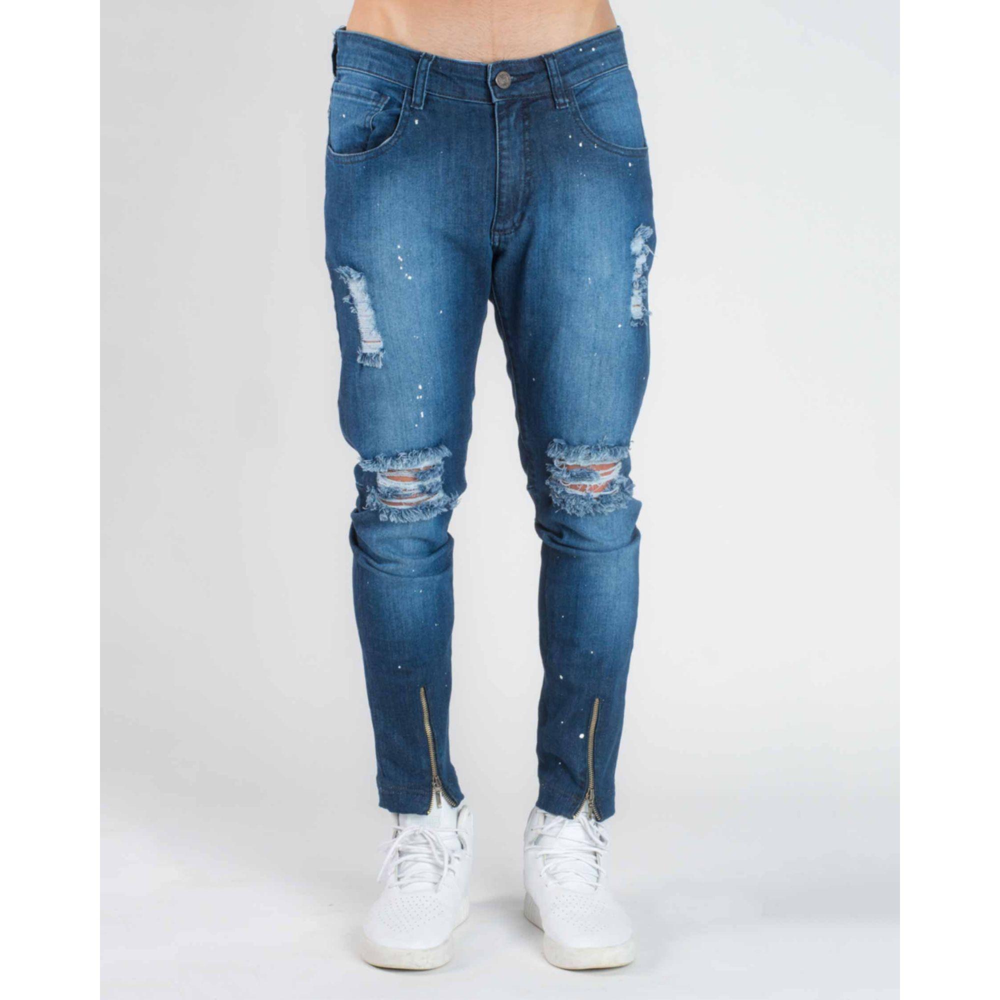 Calça Jeans Splash Blue