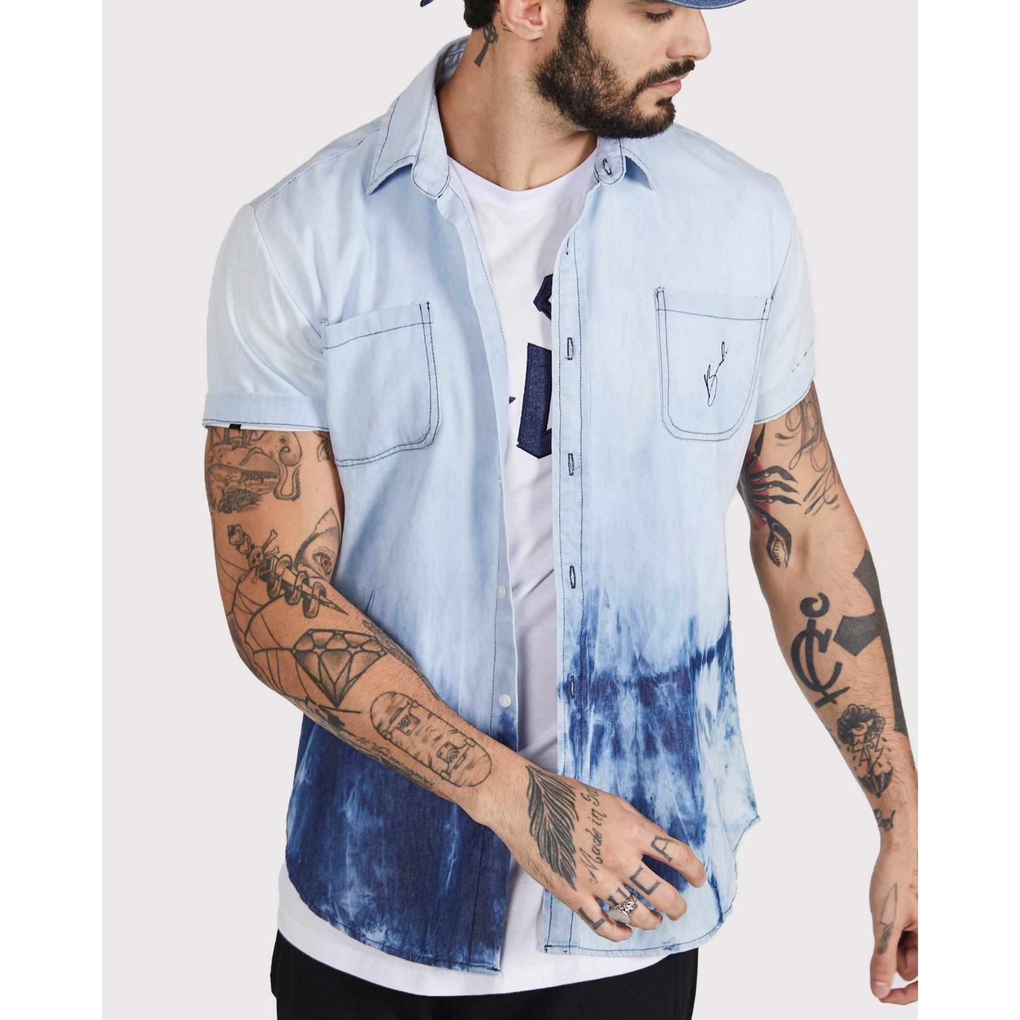 Camisa Buh Jeans Lavada