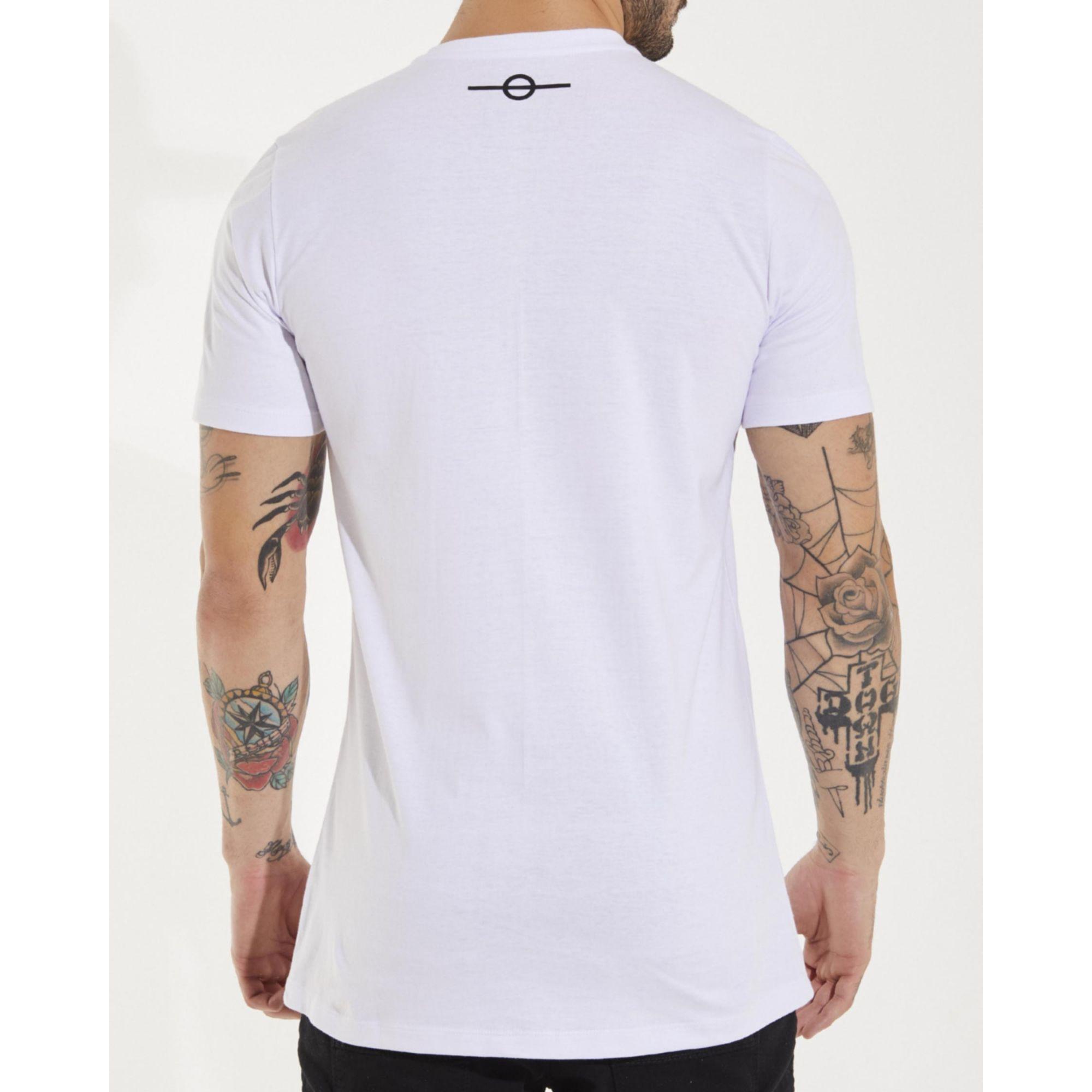 Camiseta Buh 126 Paetê White