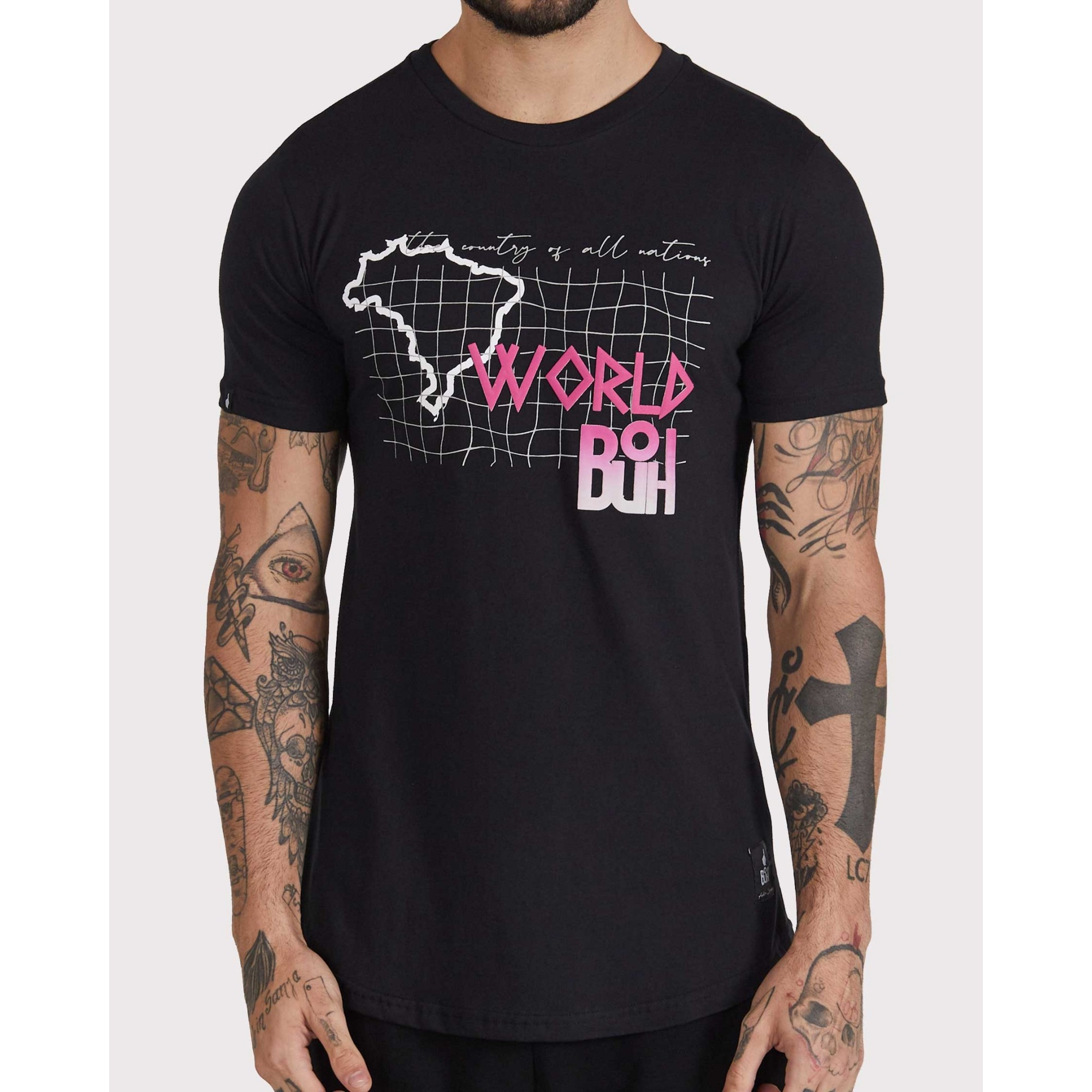 Camiseta Buh All Nations Black