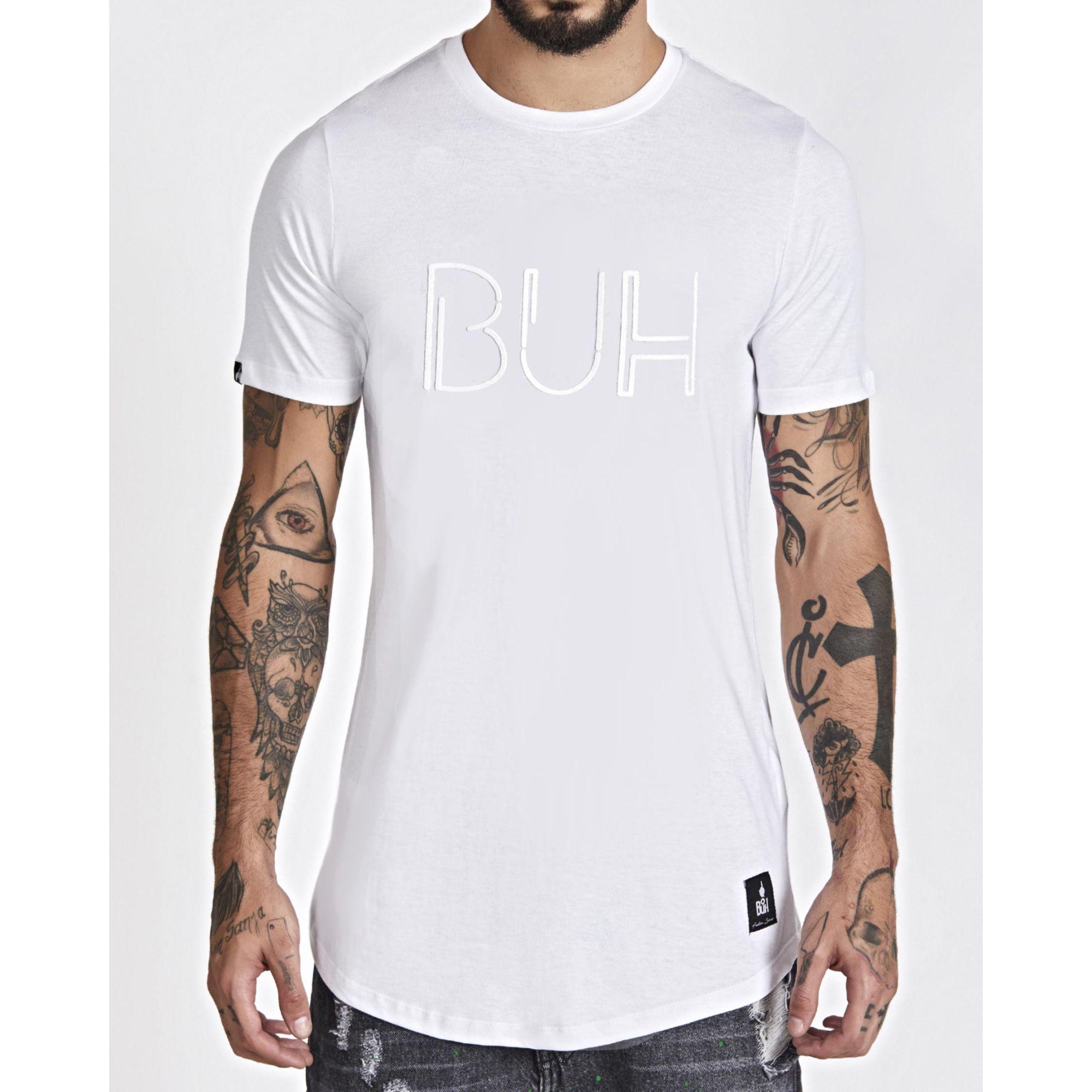 Camiseta Buh All White