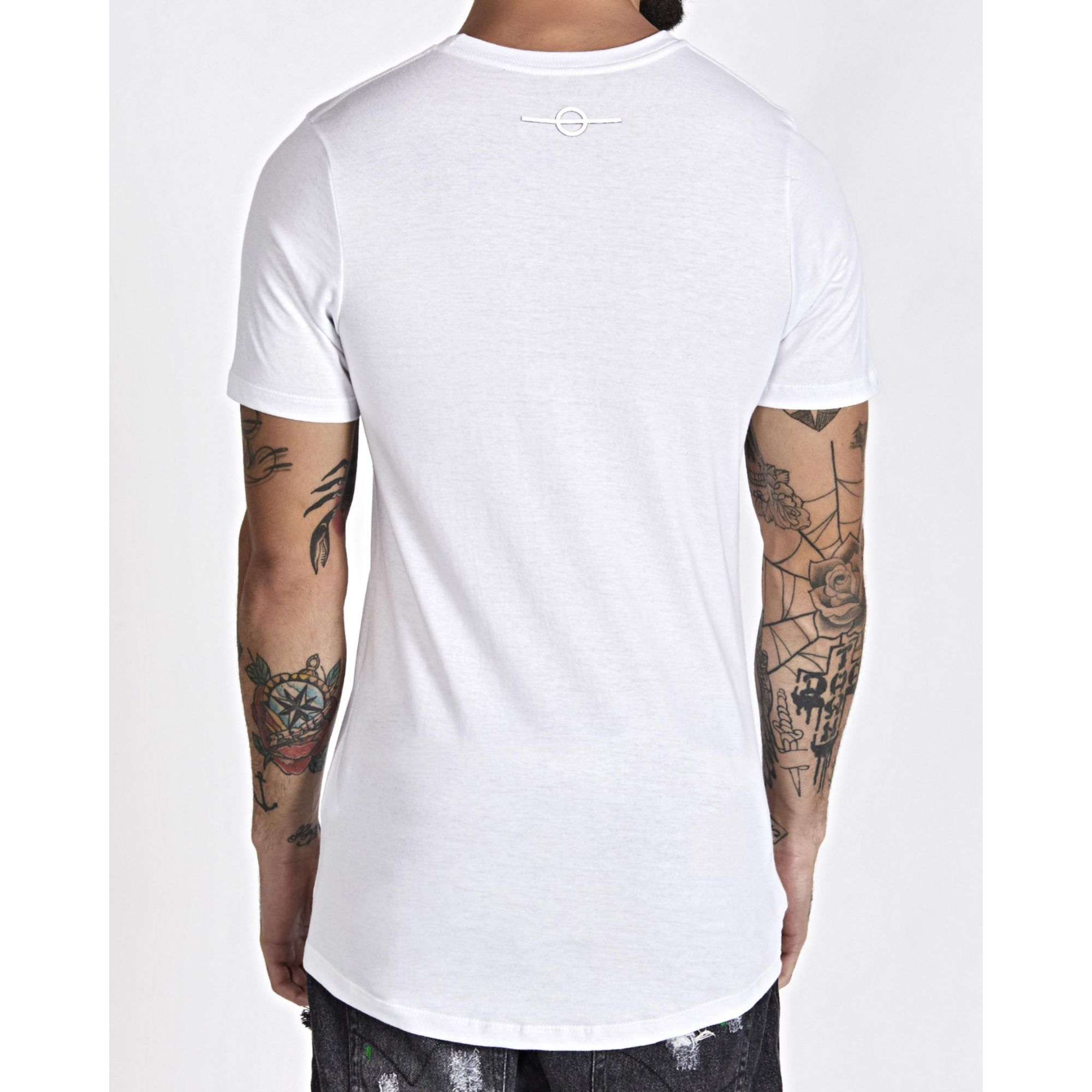 Camiseta Buh All White