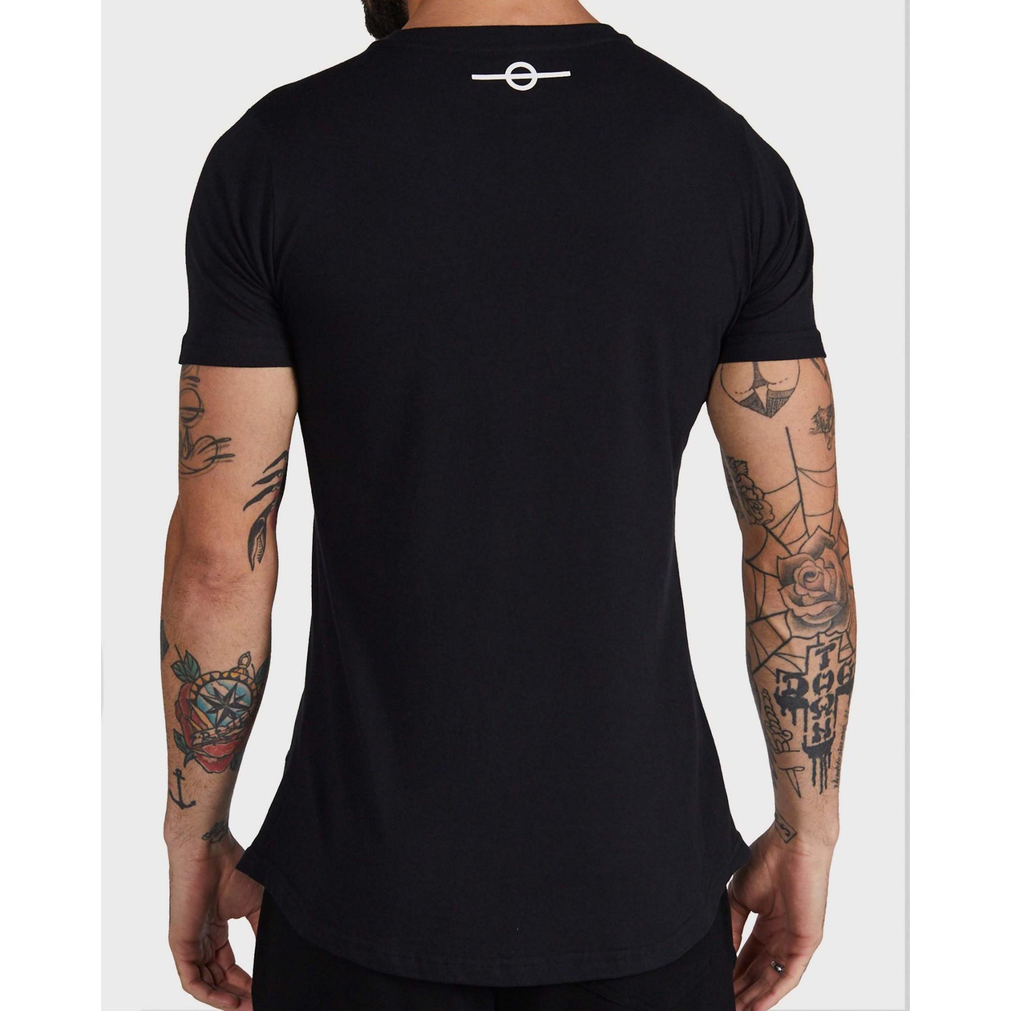 Camiseta Buh Aplique Jeans Blue