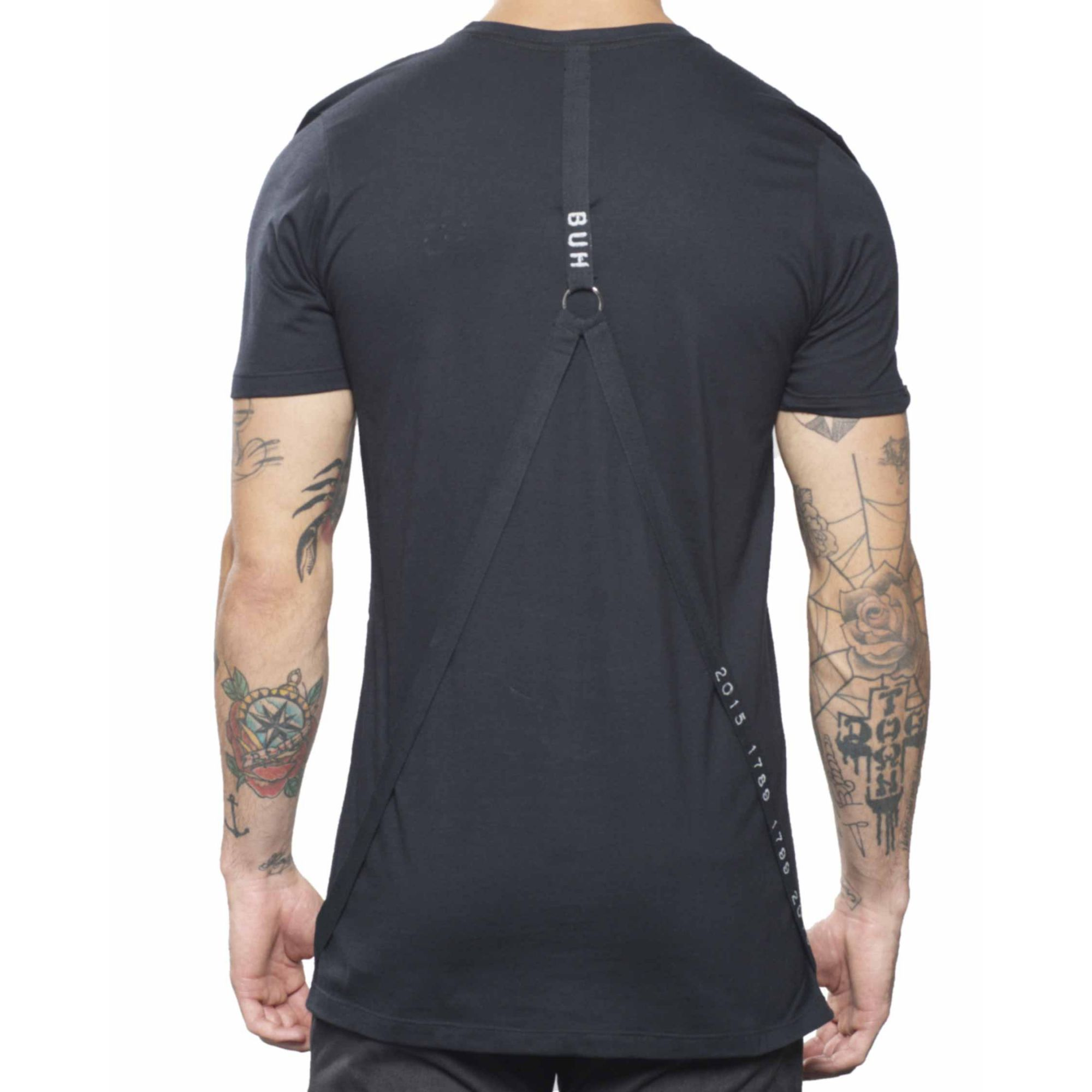 Camiseta Buh Argola Costas Black