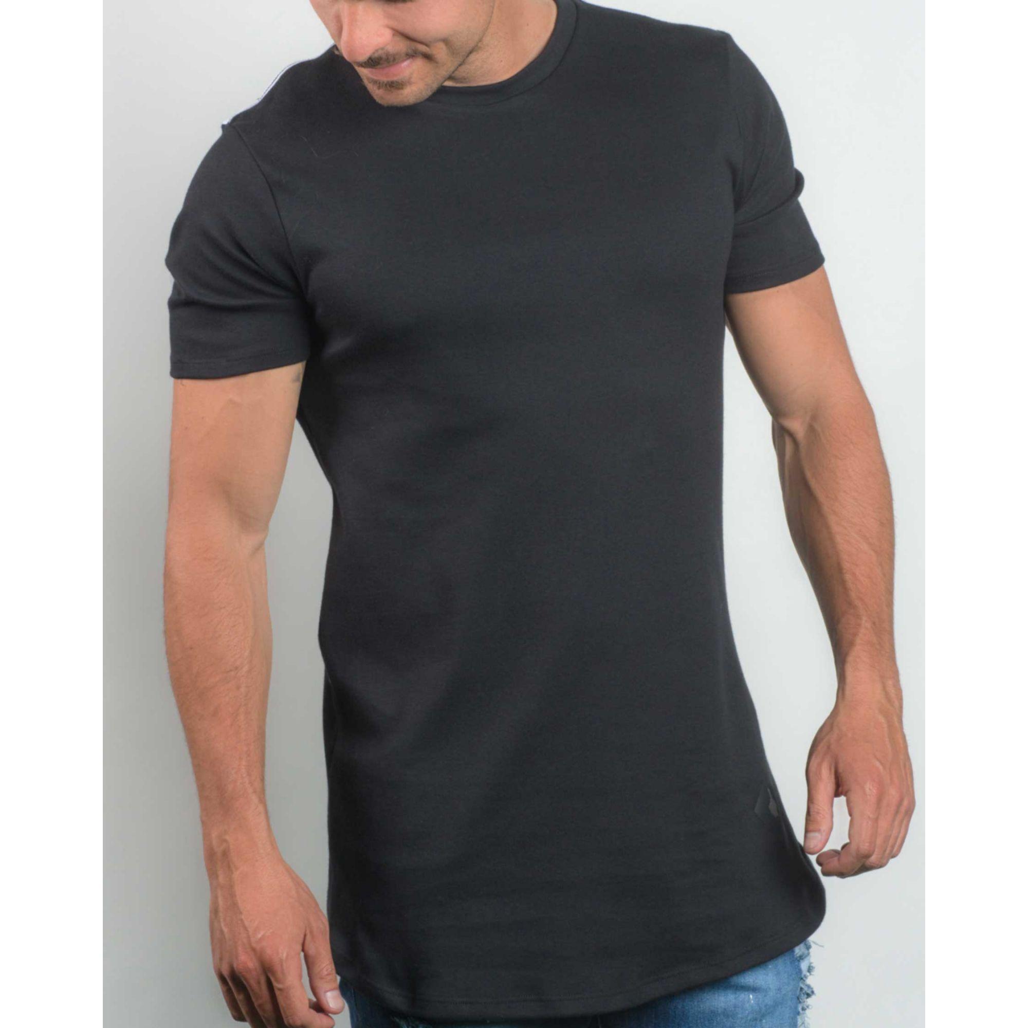 Camiseta Buh Back Mesh Black & White
