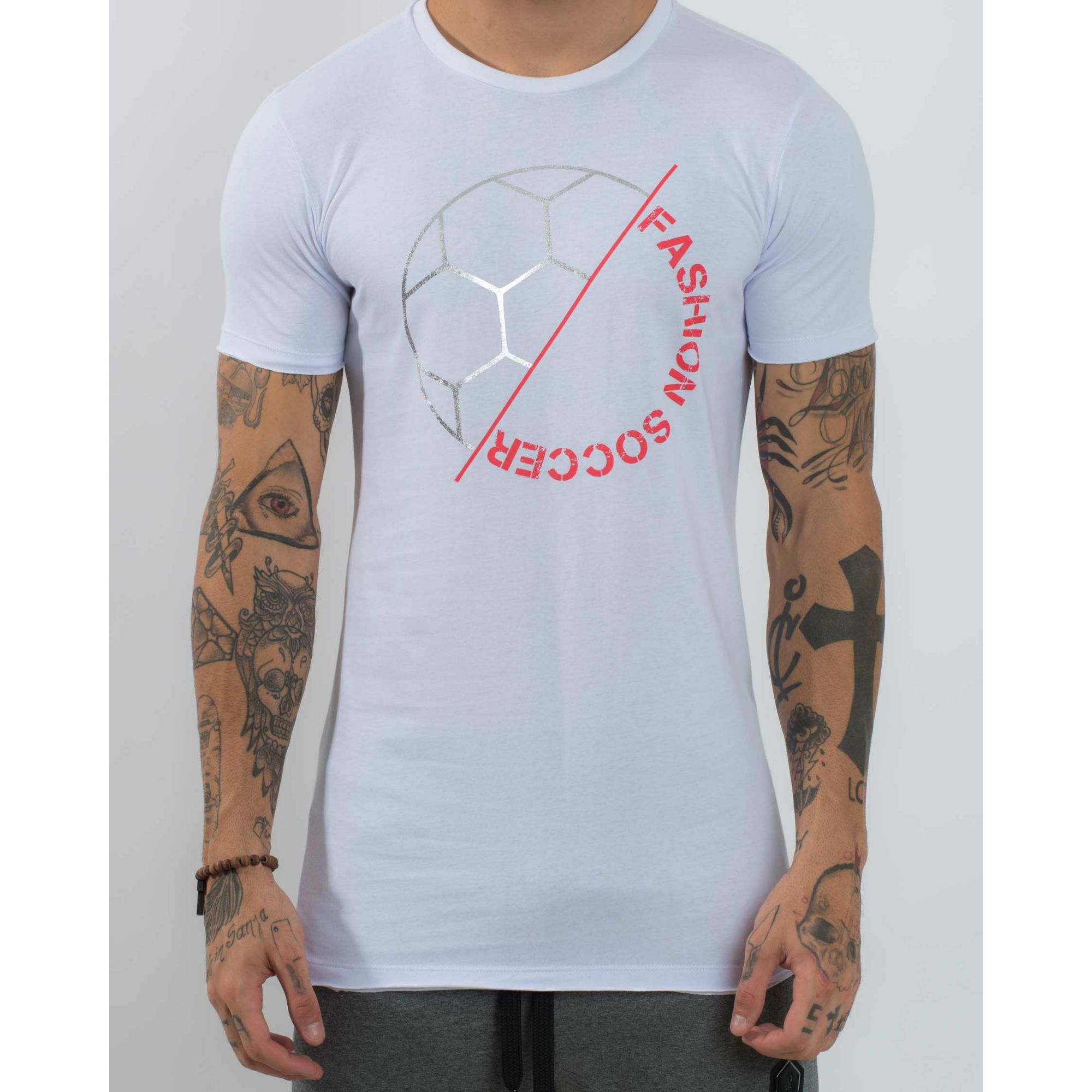 Camiseta Buh Ball Foil White