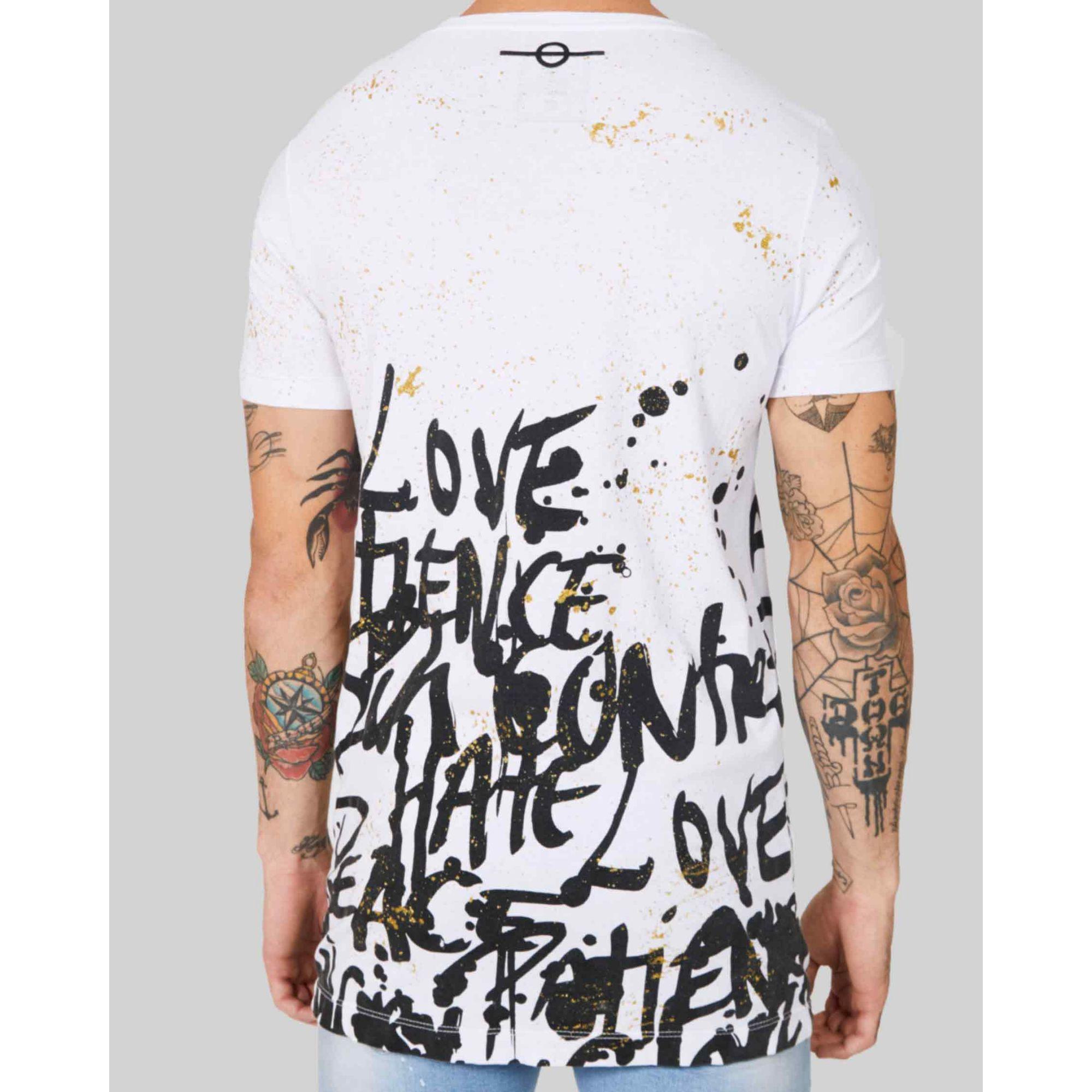 Camiseta Buh Barra Fruto White