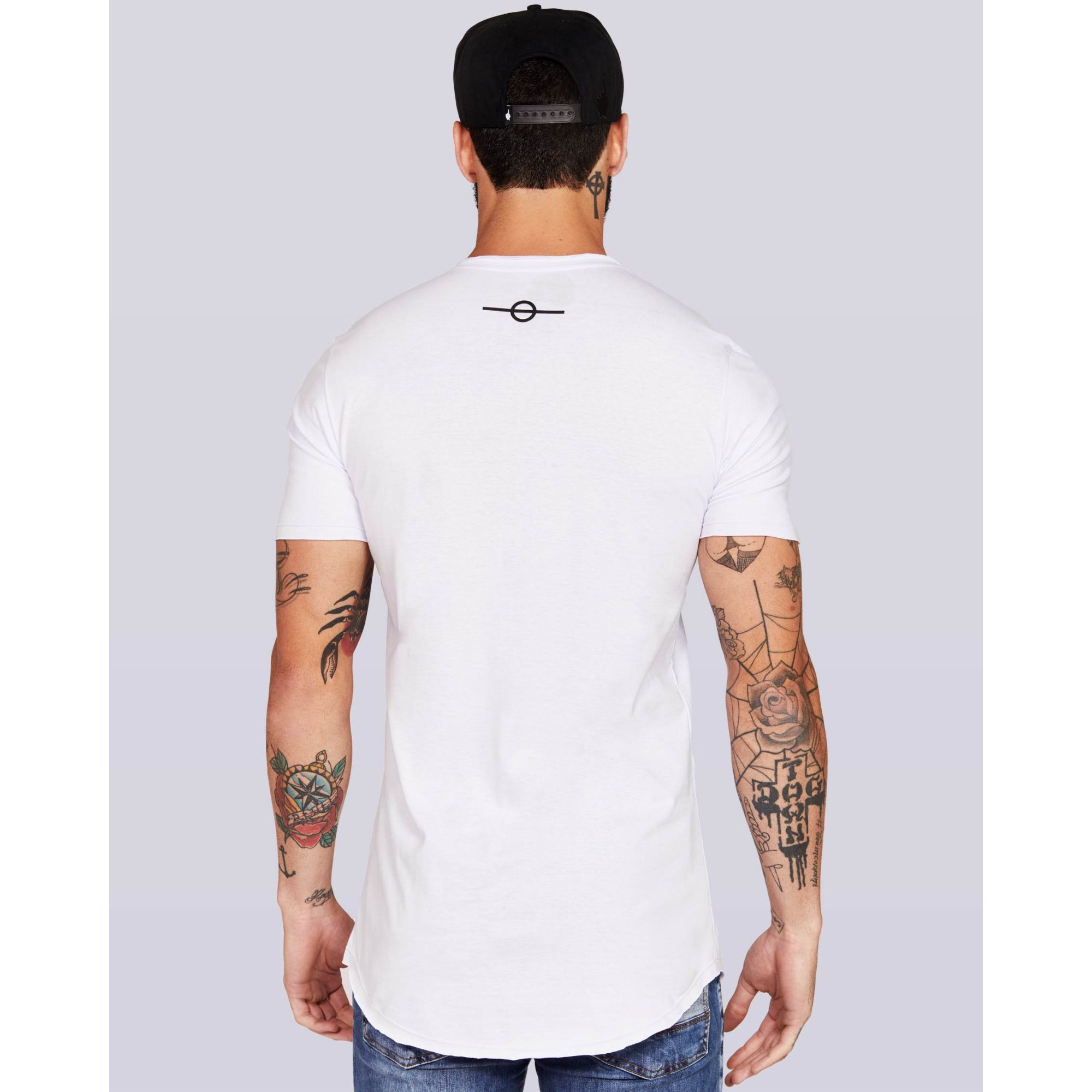 Camiseta Buh Basic Camo White