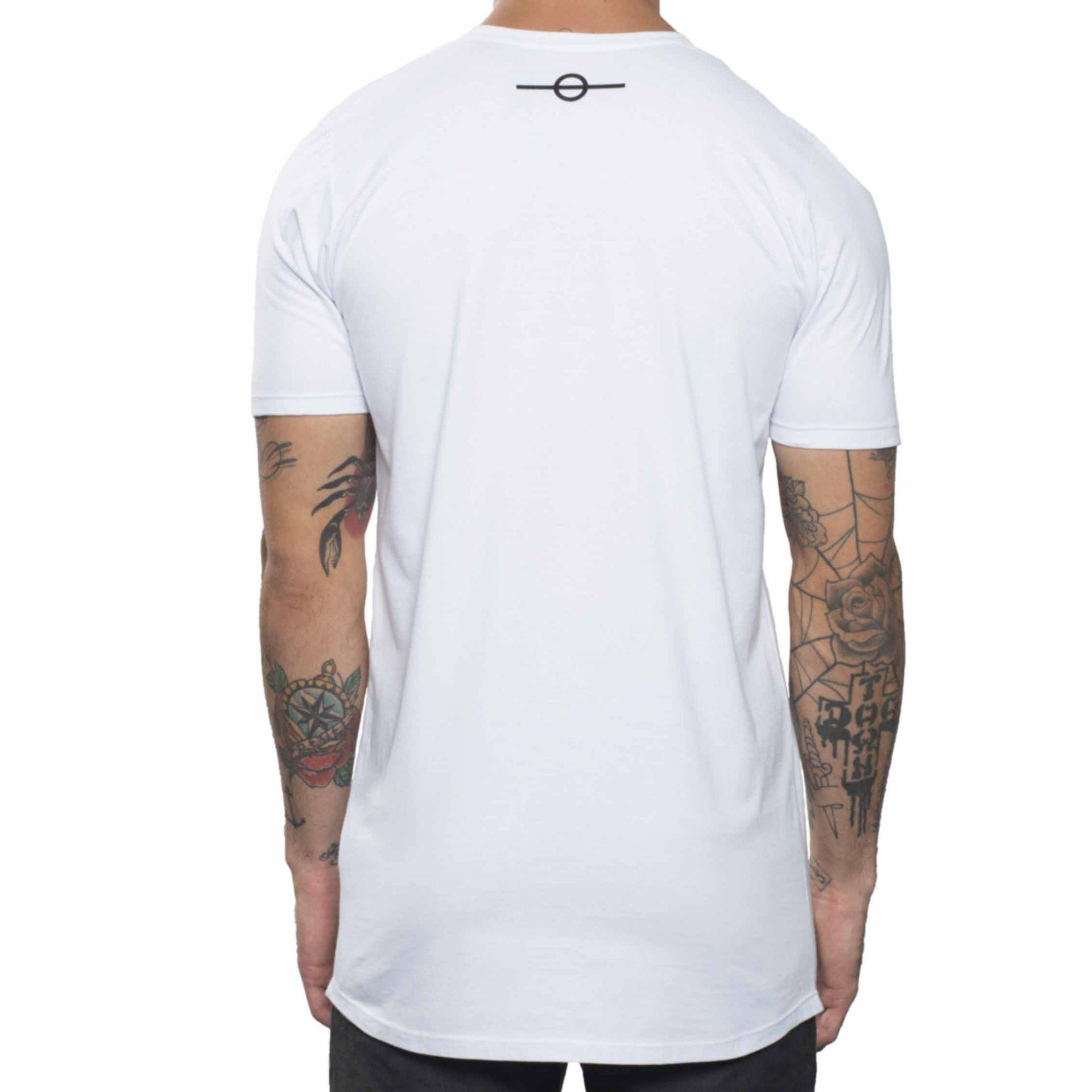 Camiseta Buh Basic Champion White