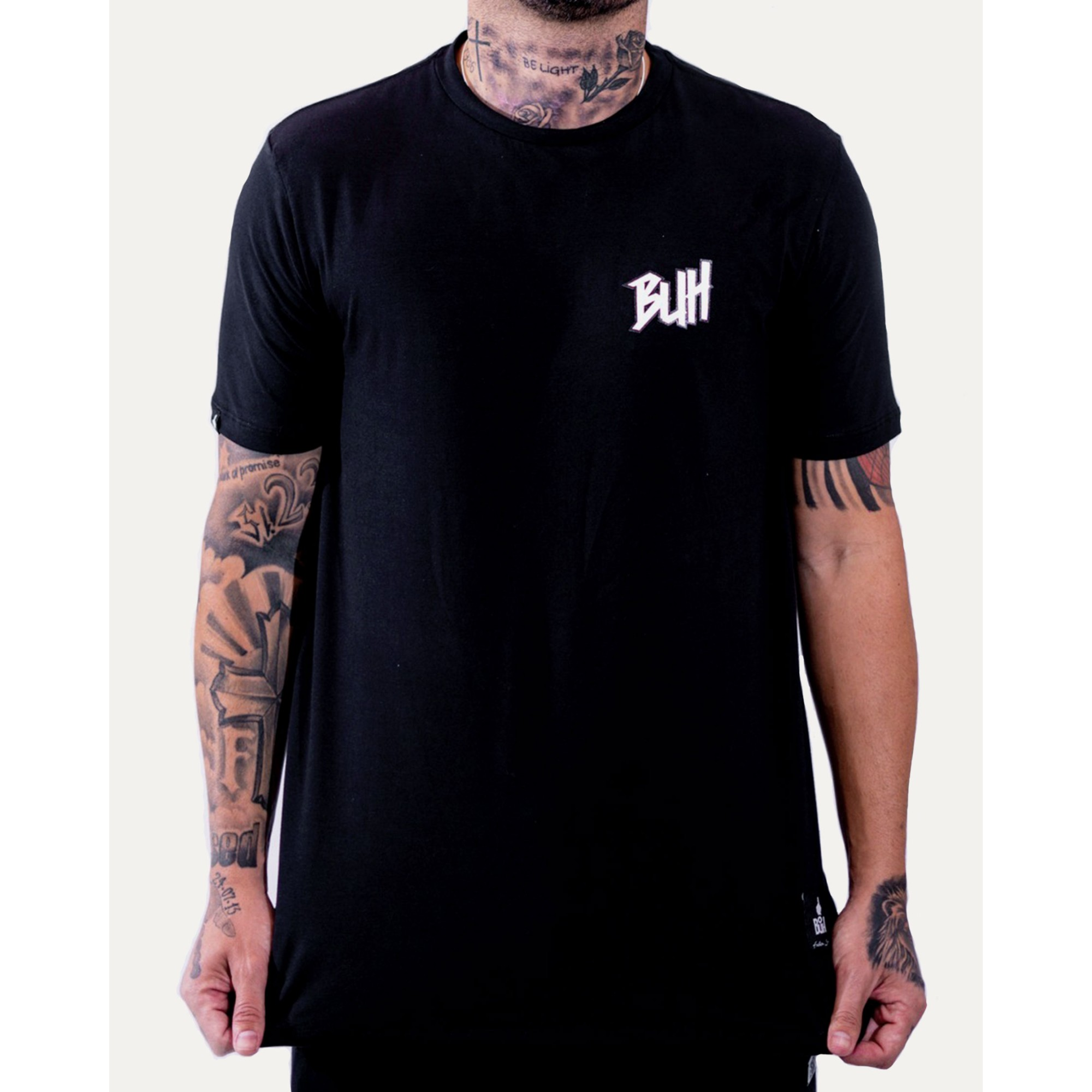 Camiseta Buh Basic HQ Black