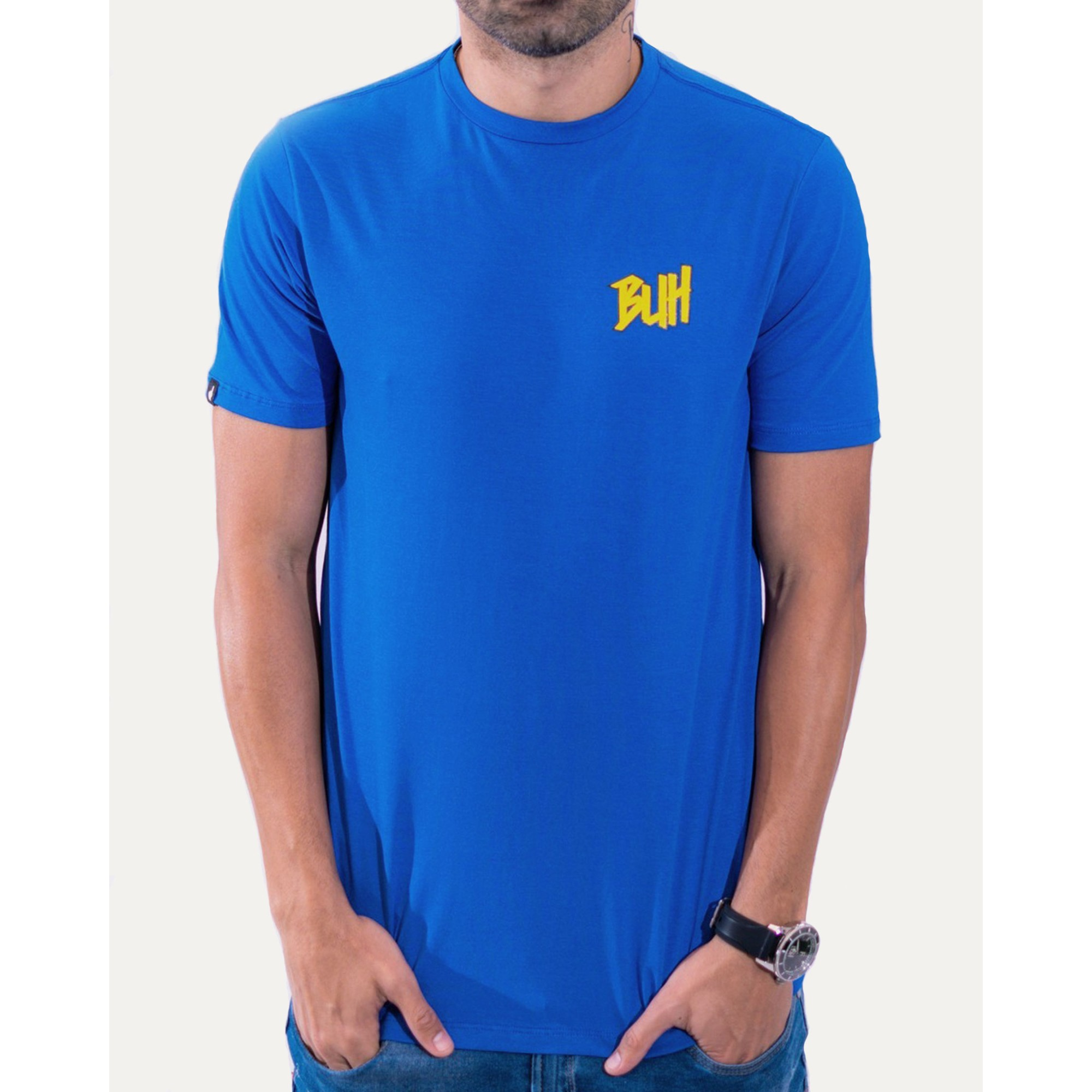 Camiseta Buh Basic HQ Blue