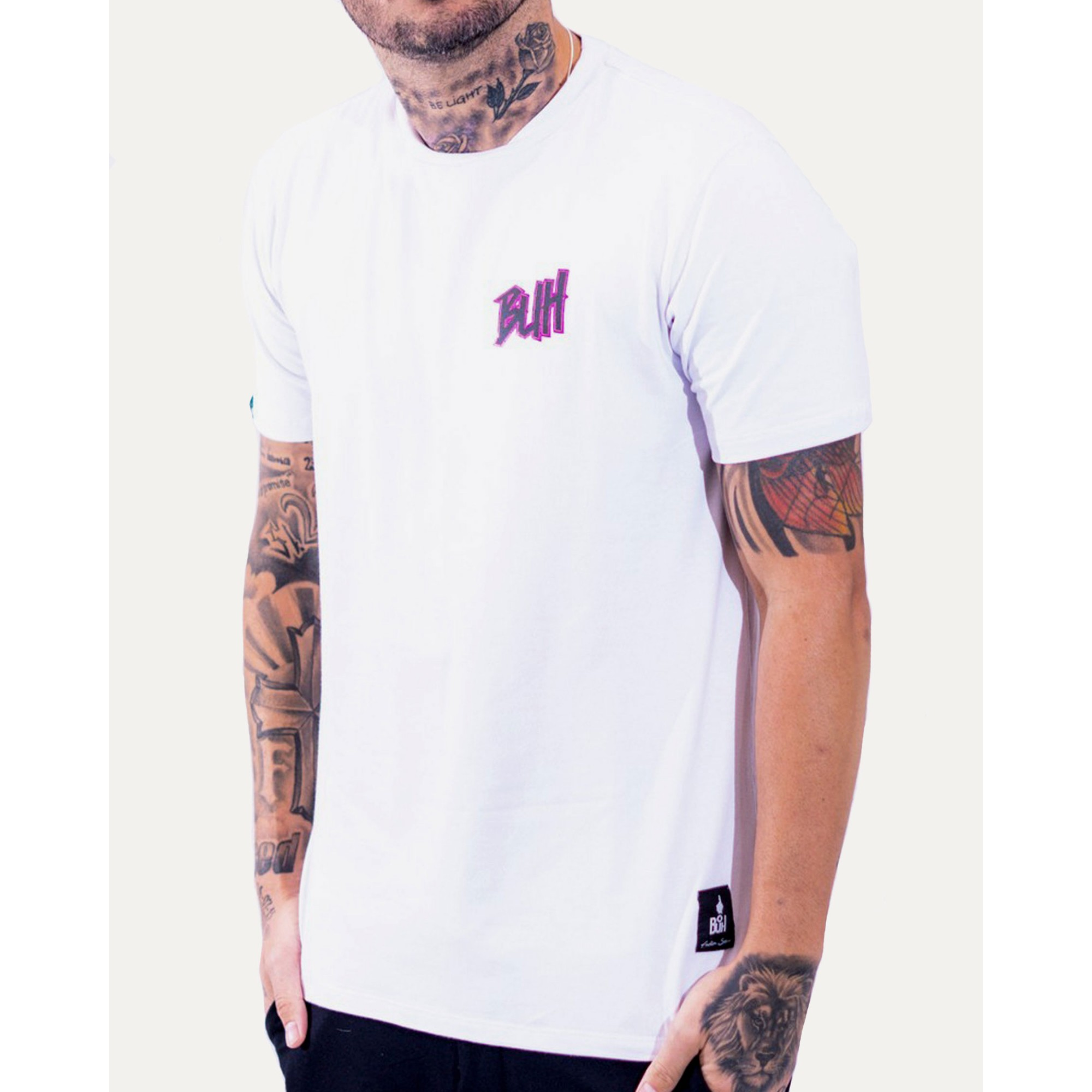 Camiseta Buh Basic HQ White