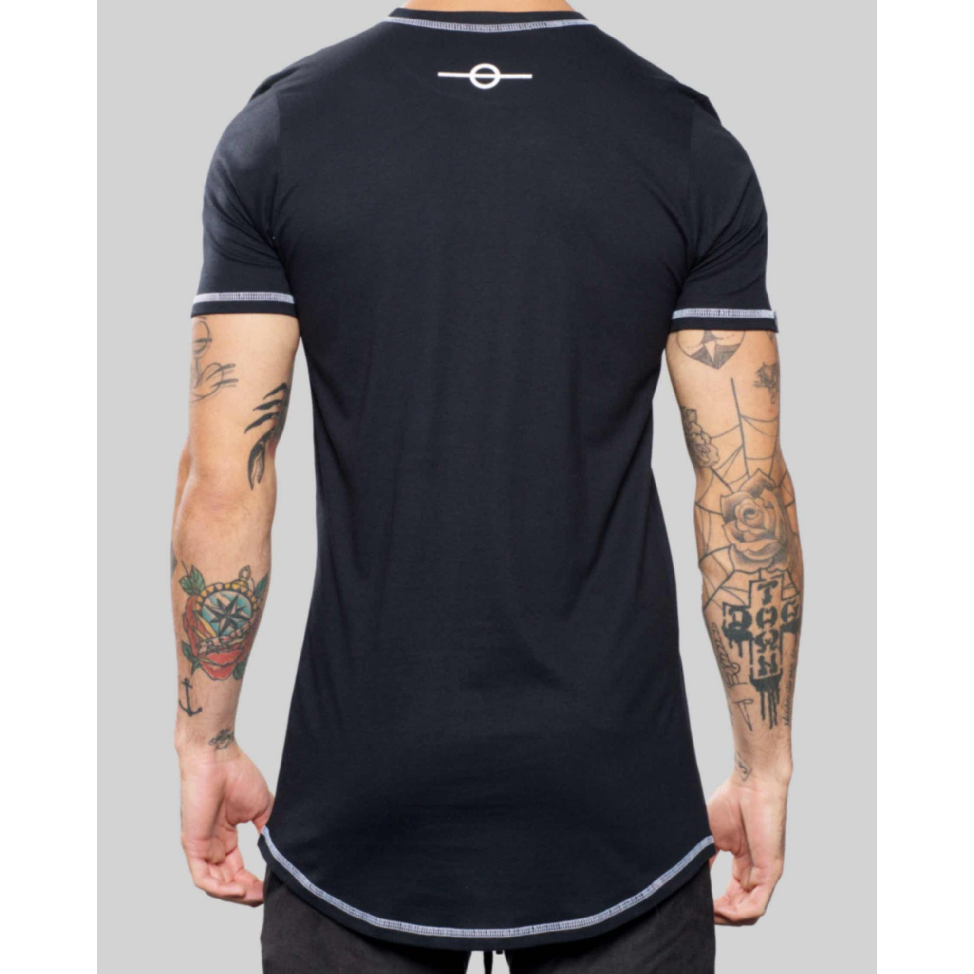 Camiseta Buh Basic Label Black