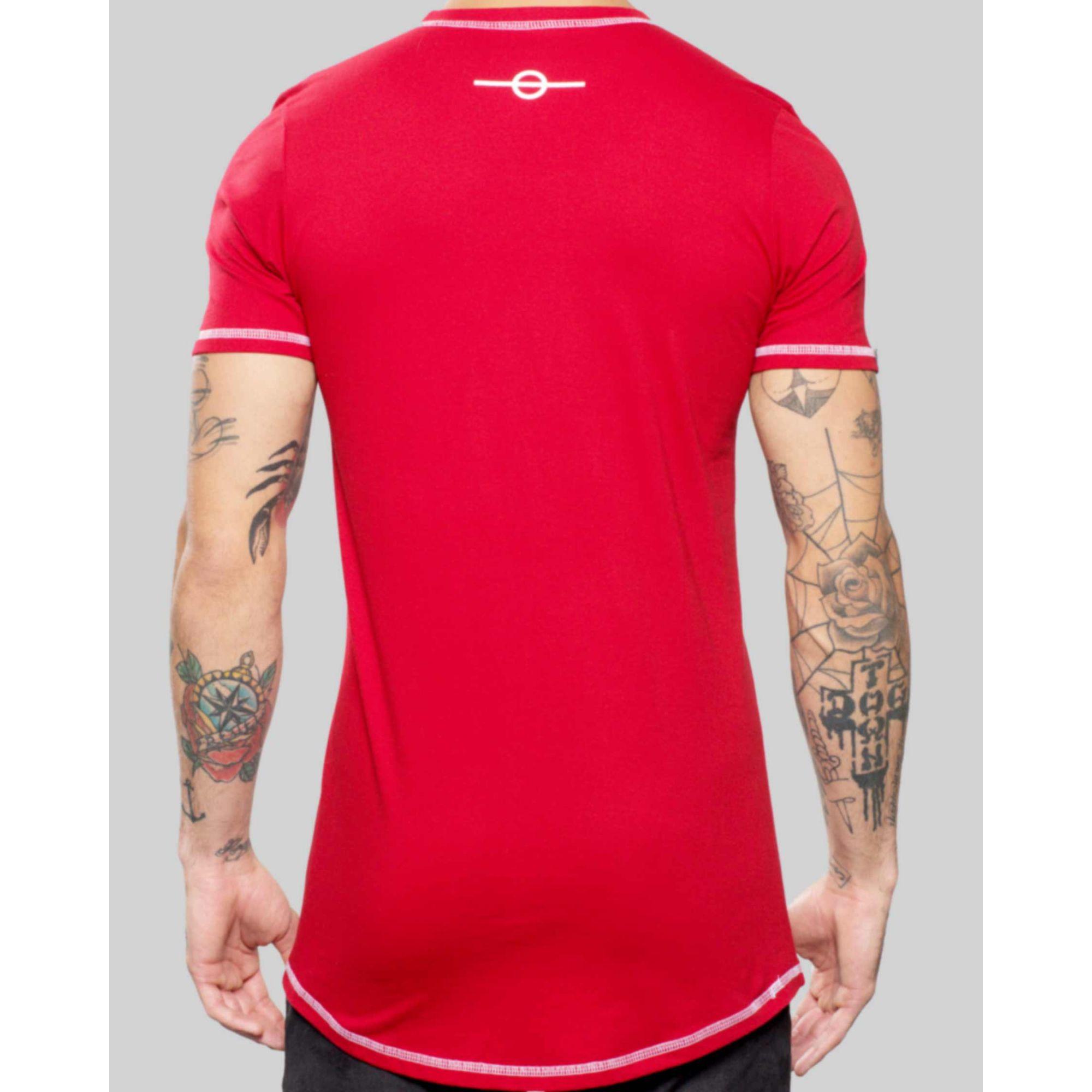 Camiseta Buh Basic Label Red