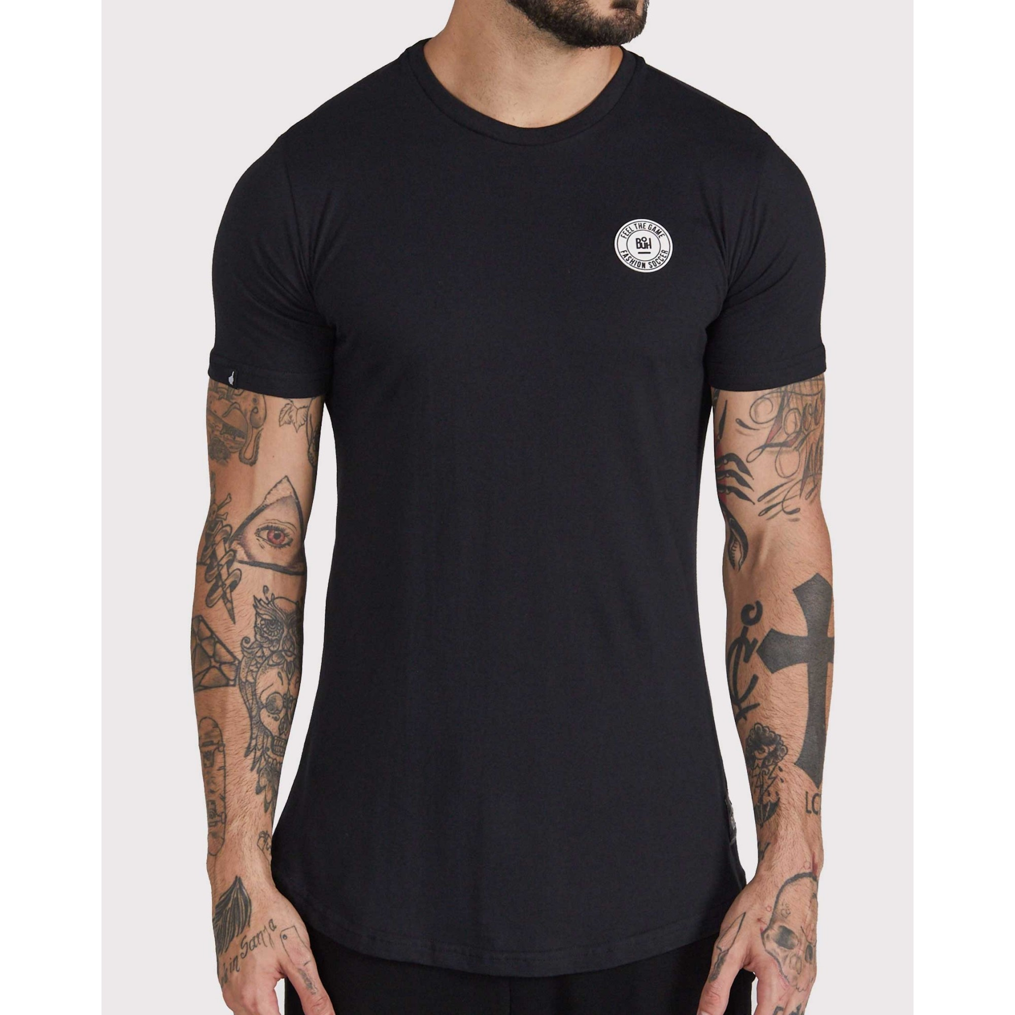 Camiseta Buh Basic Rubber Black