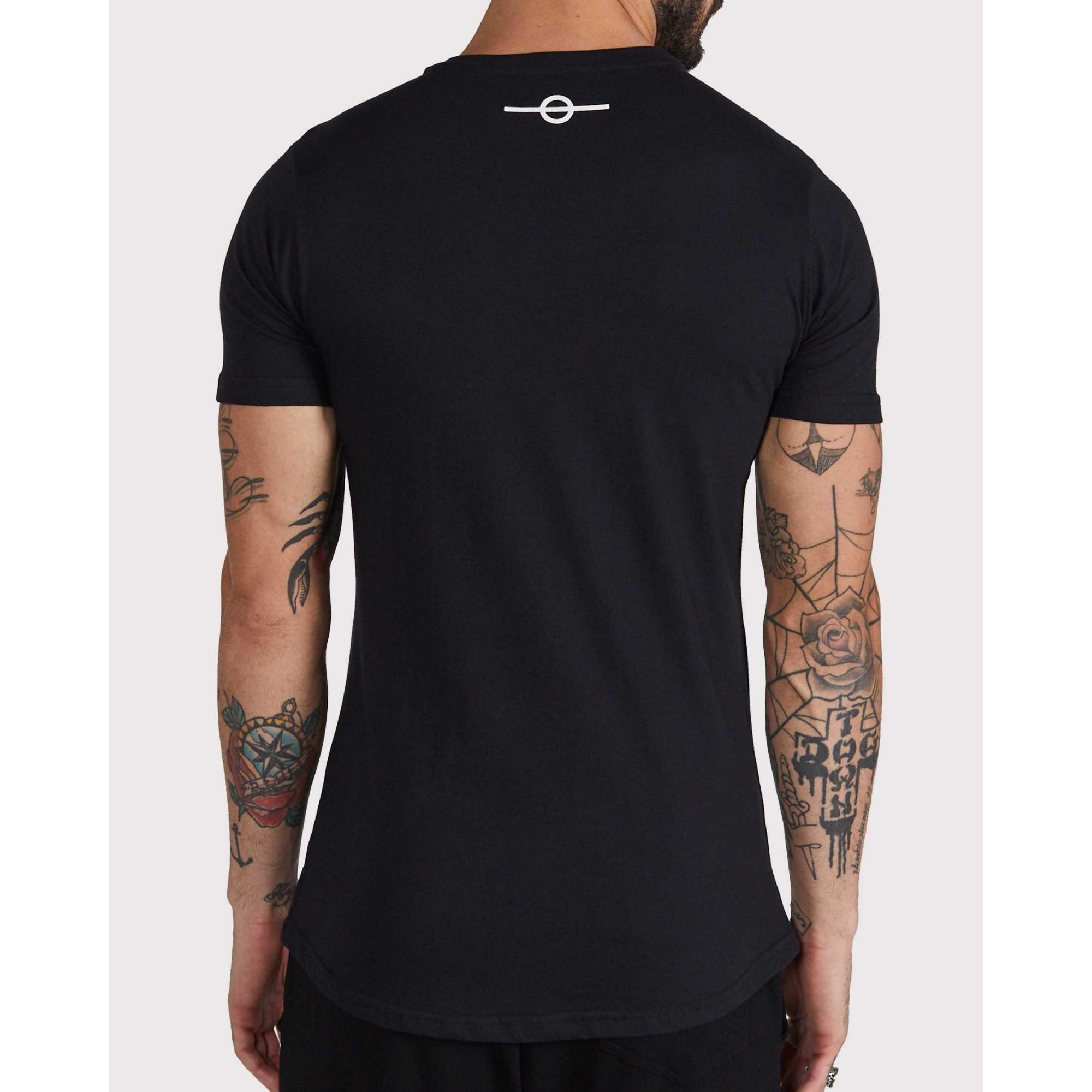 Camiseta Buh Basic Rubber Black