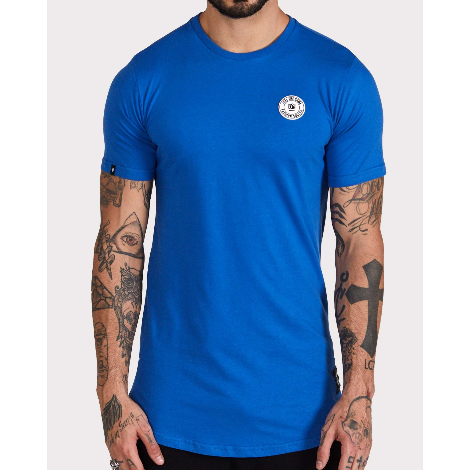 Camiseta Buh Basic Rubber Blue
