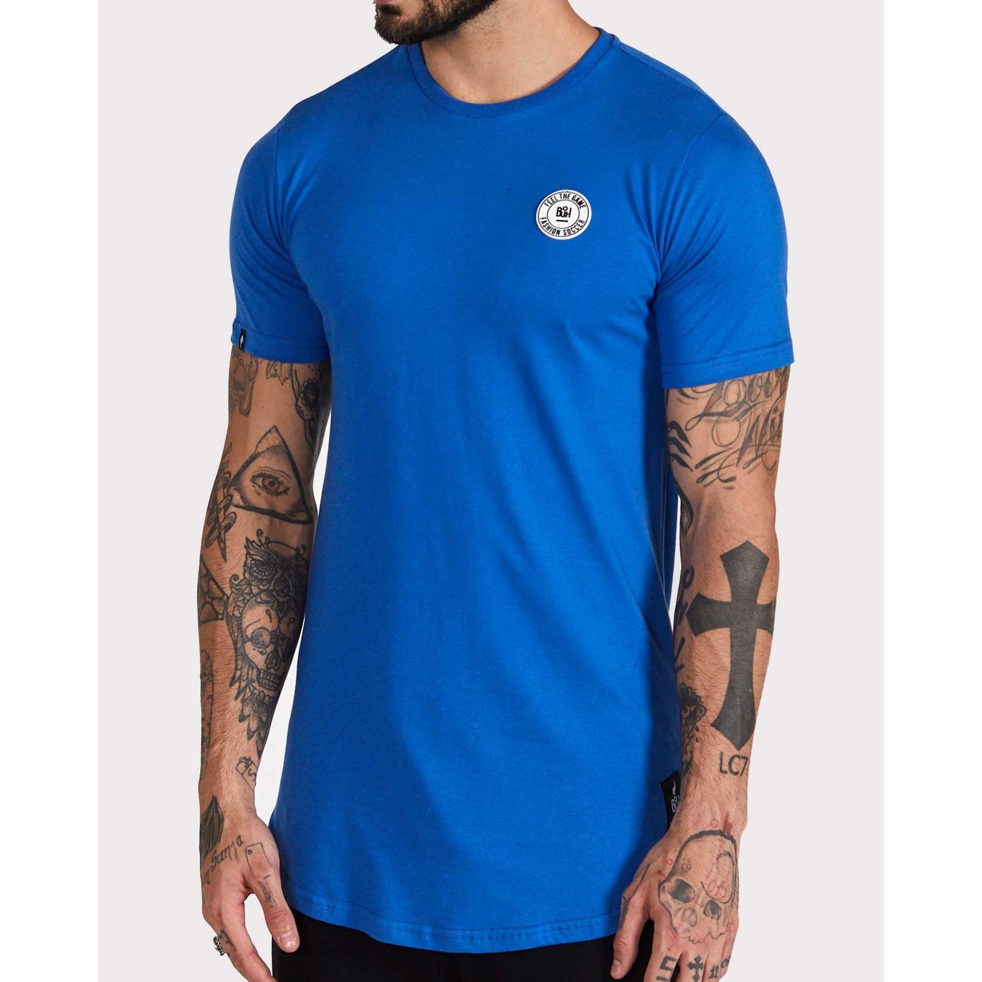 Camiseta Buh Basic Rubber Blue