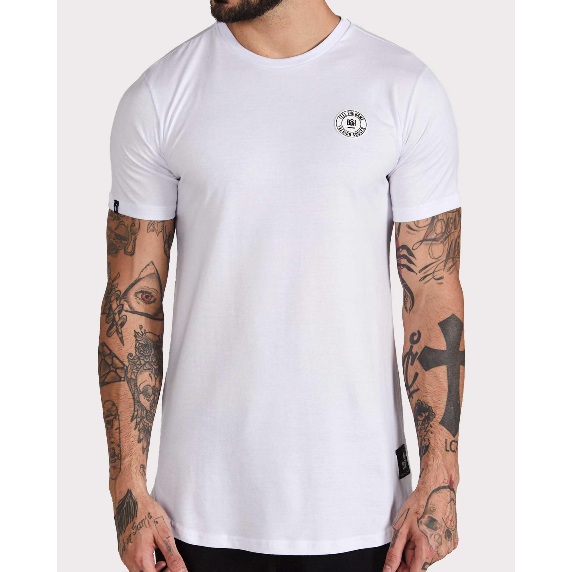 Camiseta Buh Basic Rubber White