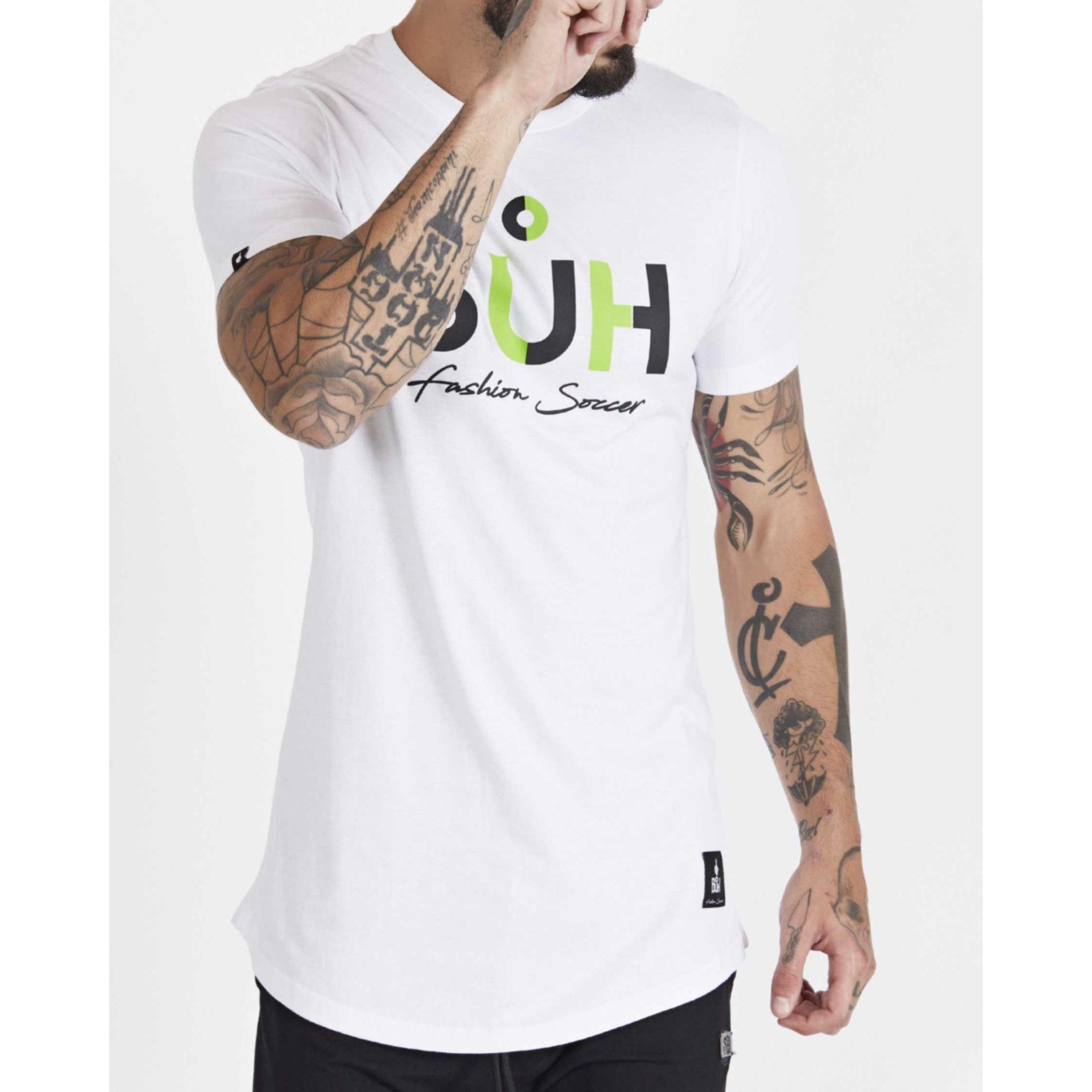Camiseta Buh Bicolor White