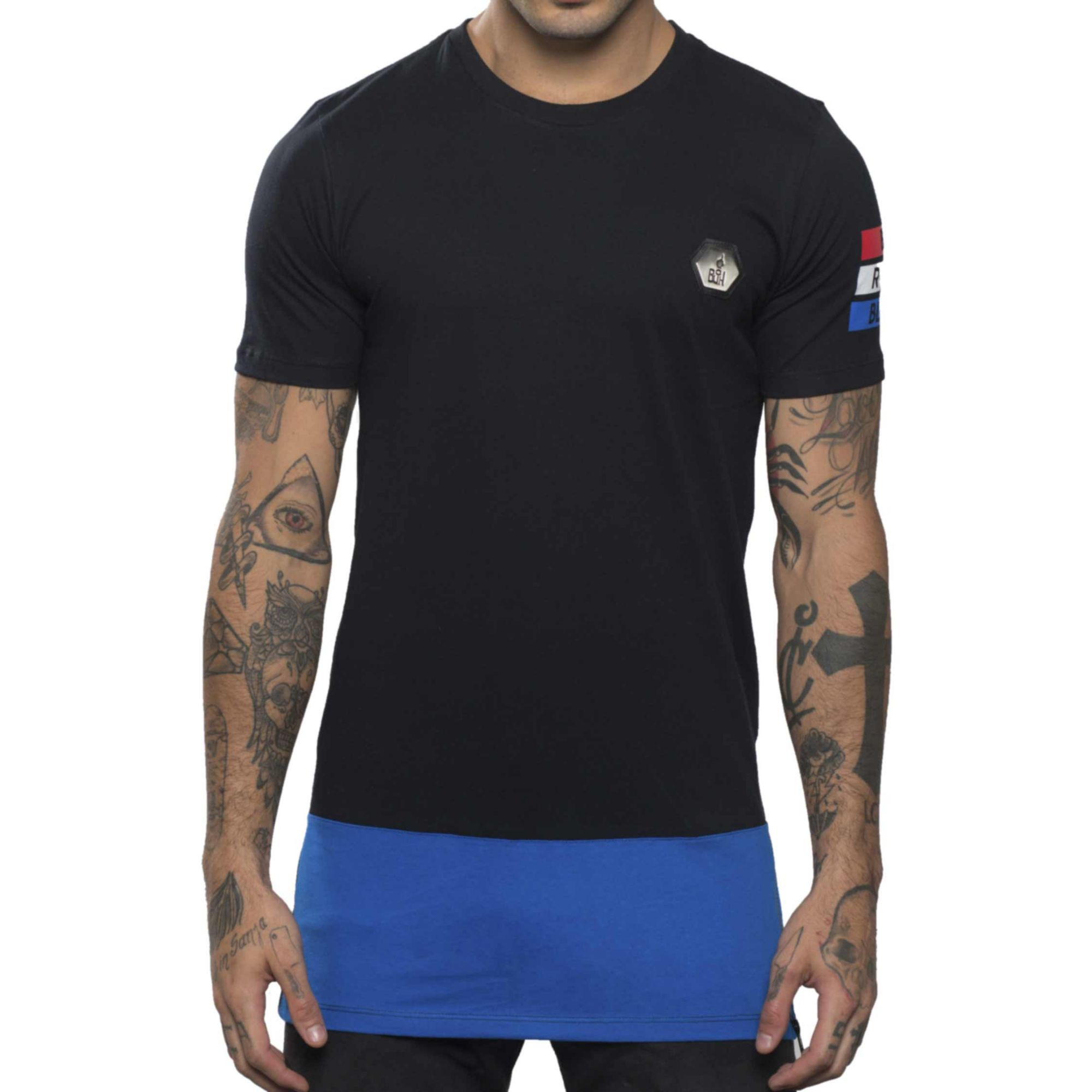 Camiseta Buh Bicolor Zíper France