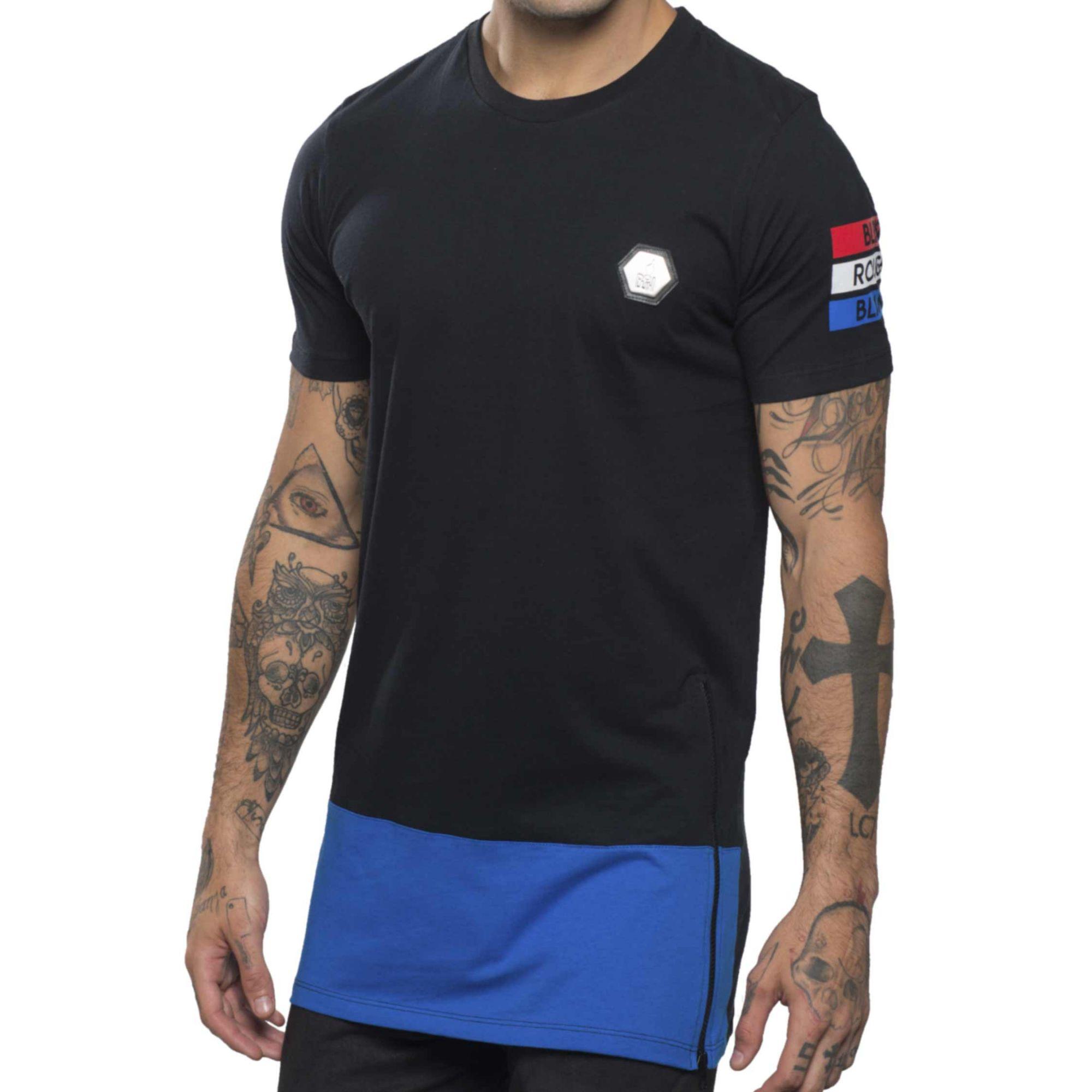 Camiseta Buh Bicolor Zíper France