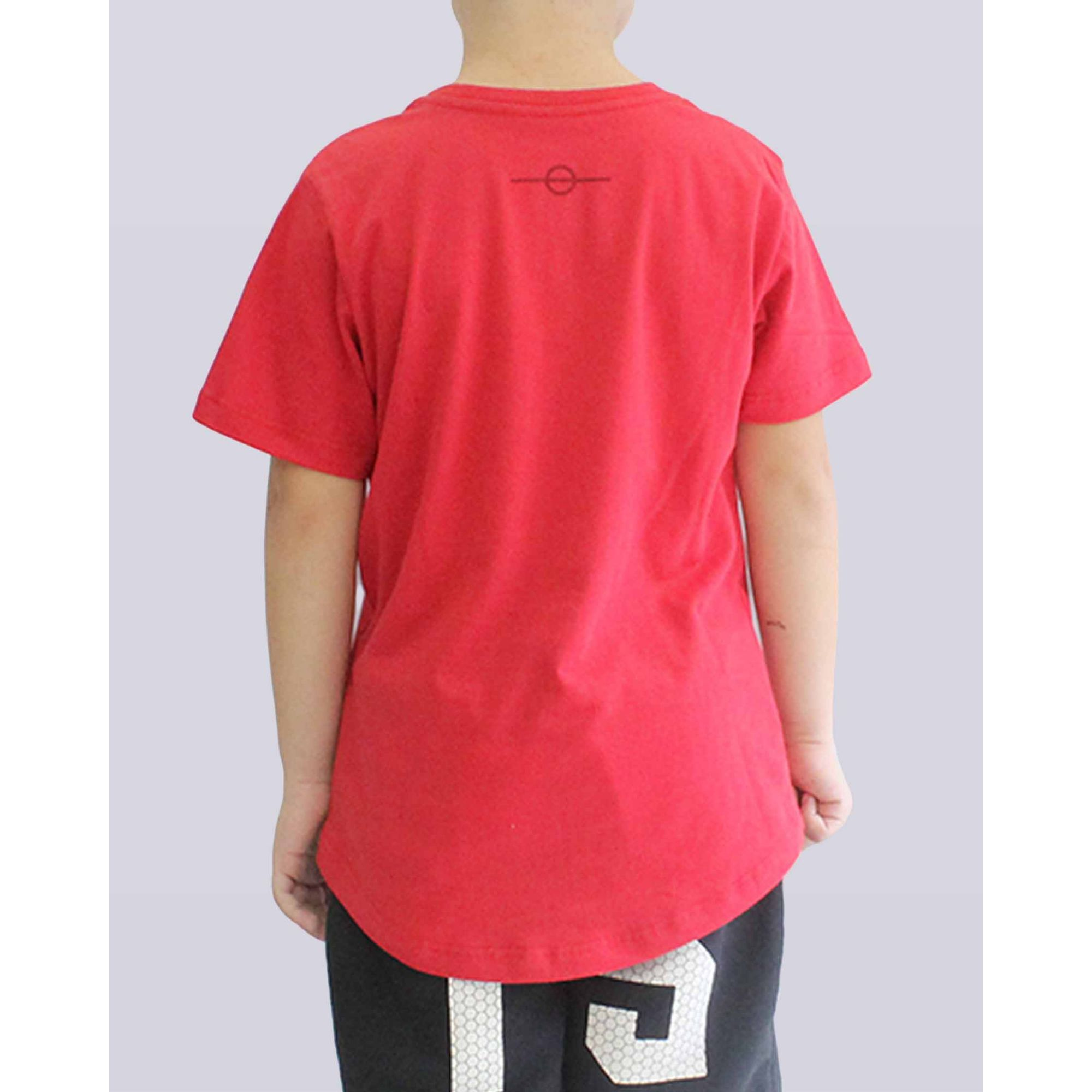 Camiseta Buh Birth Red Kids