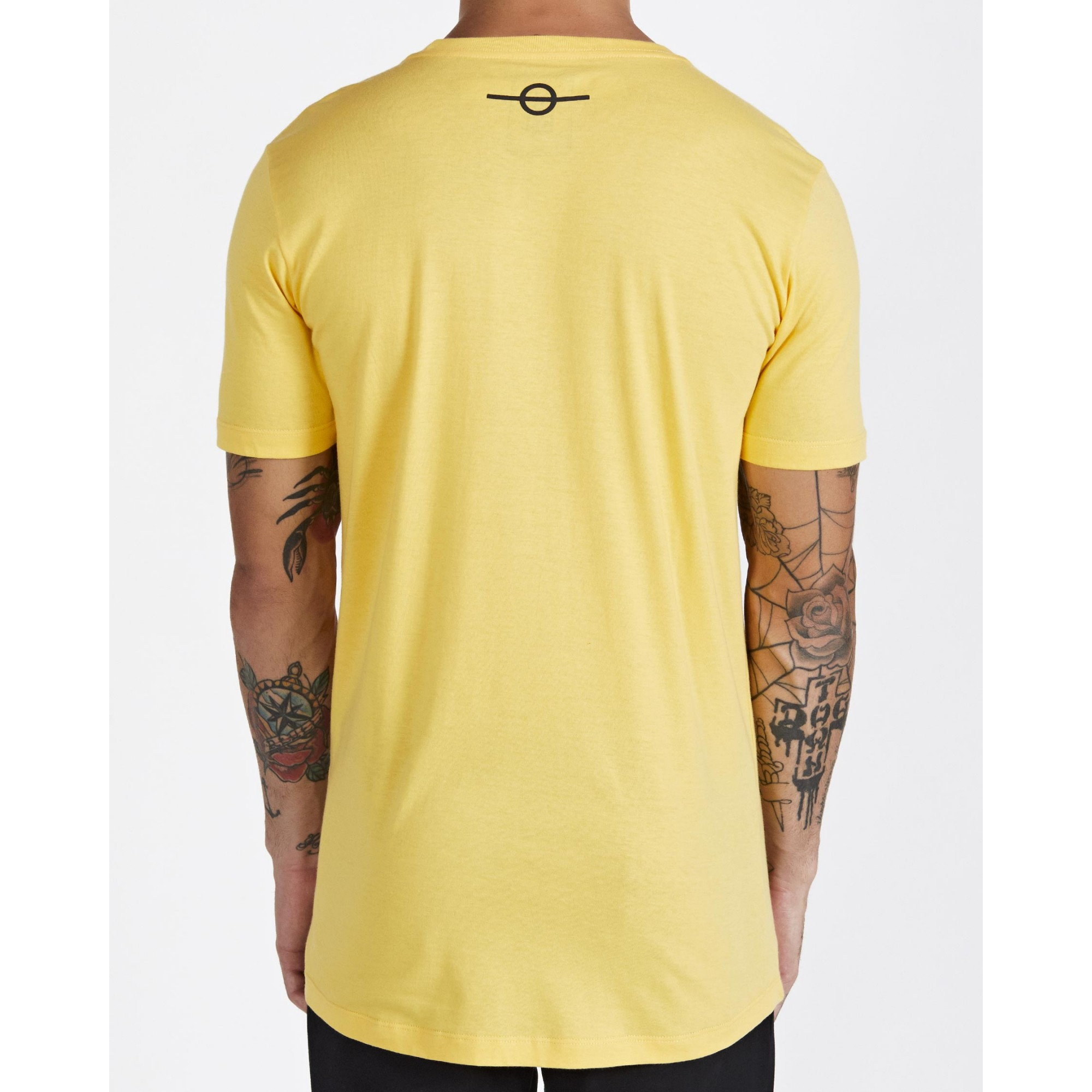 Camiseta Buh Bordado Fashion Soccer Yellow