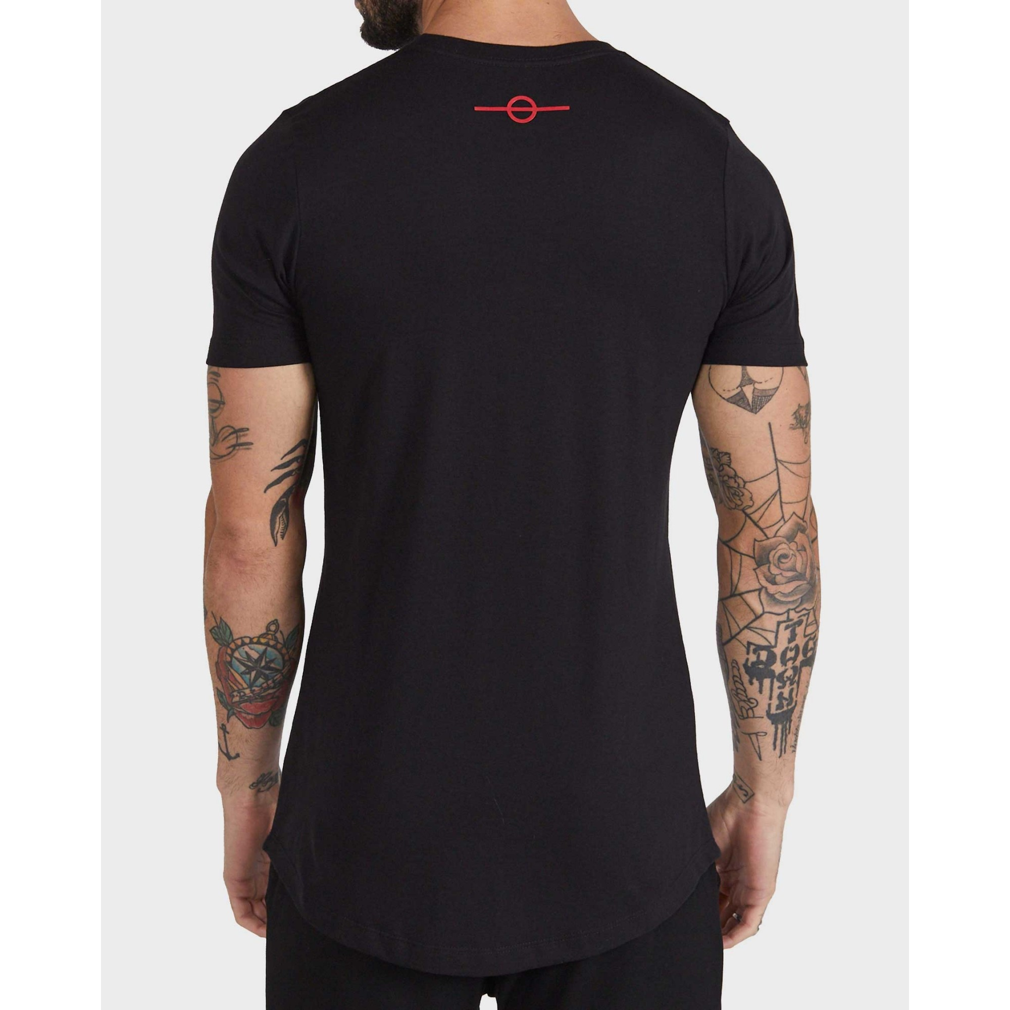 Camiseta Buh Bordado Lurex Black
