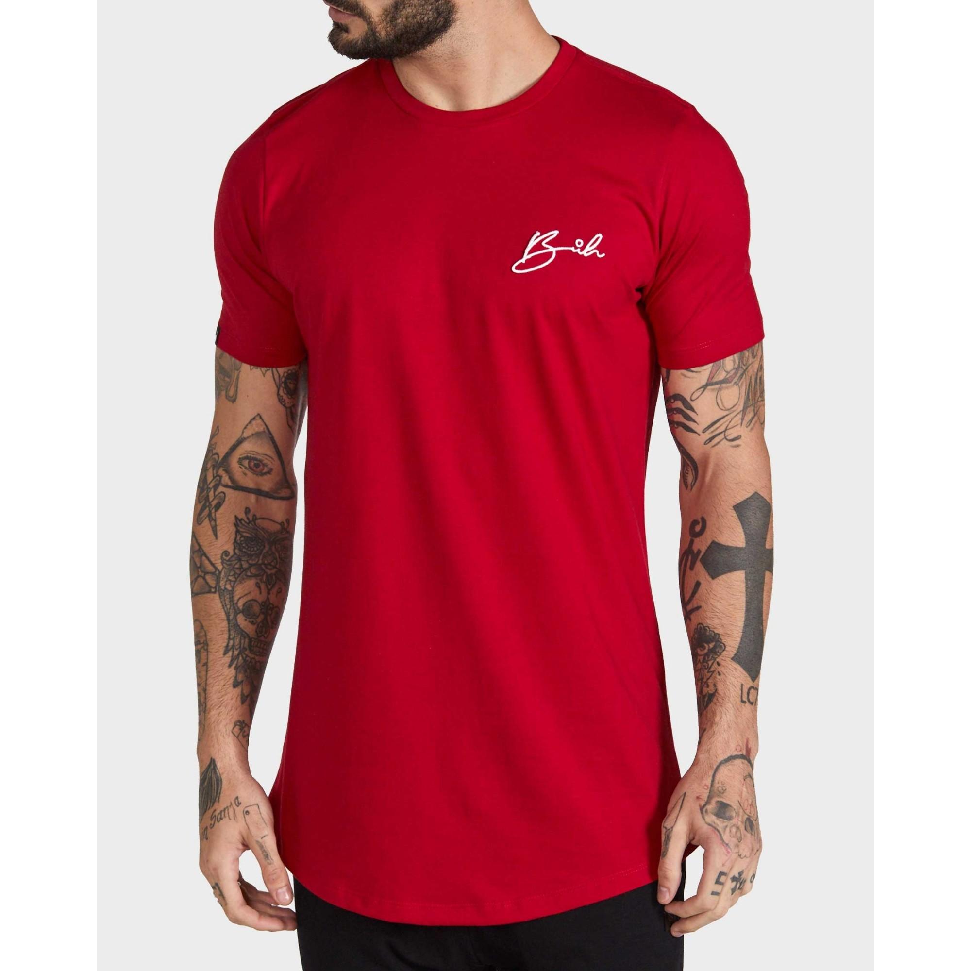 Camiseta Buh Bordado Red