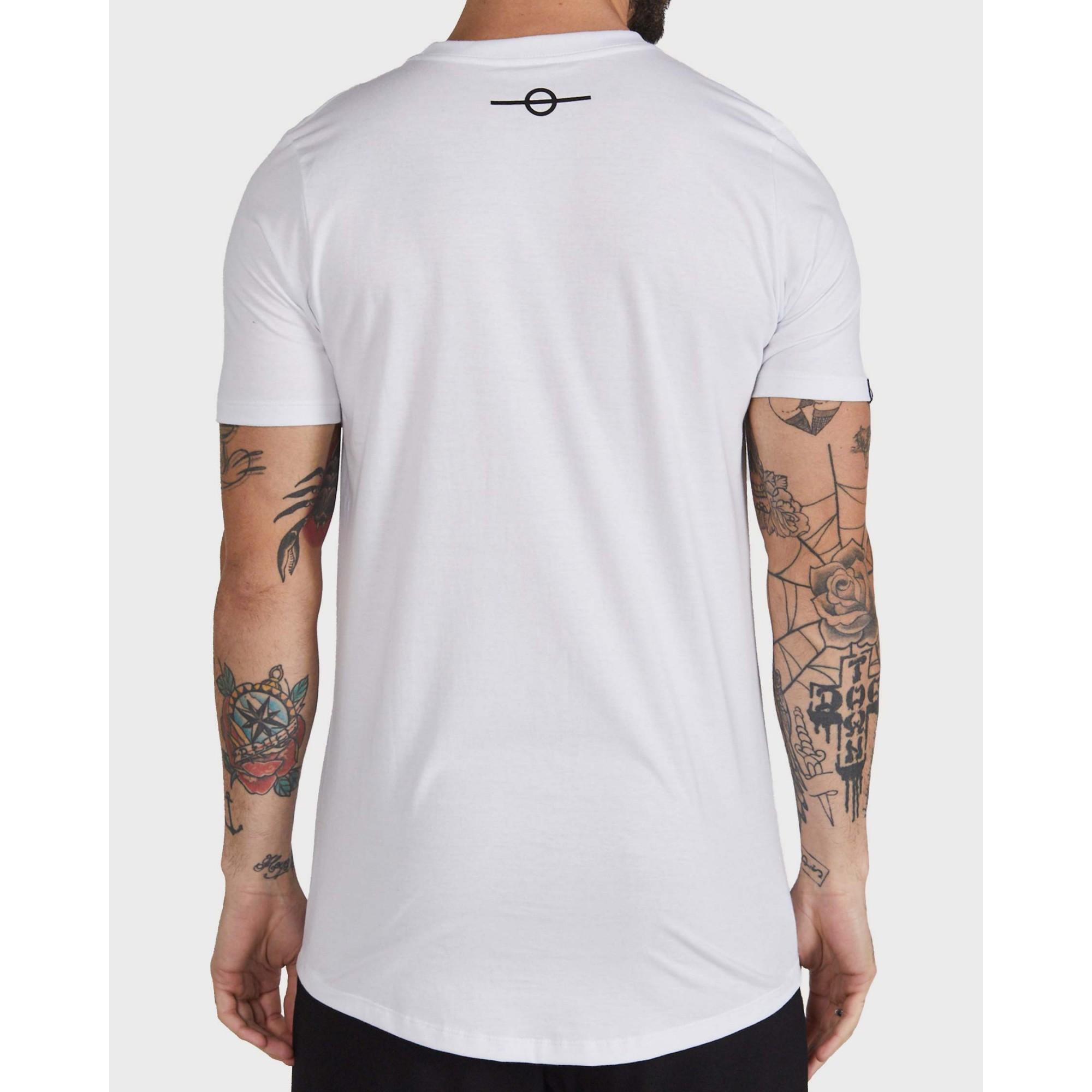Camiseta Buh Bordado White