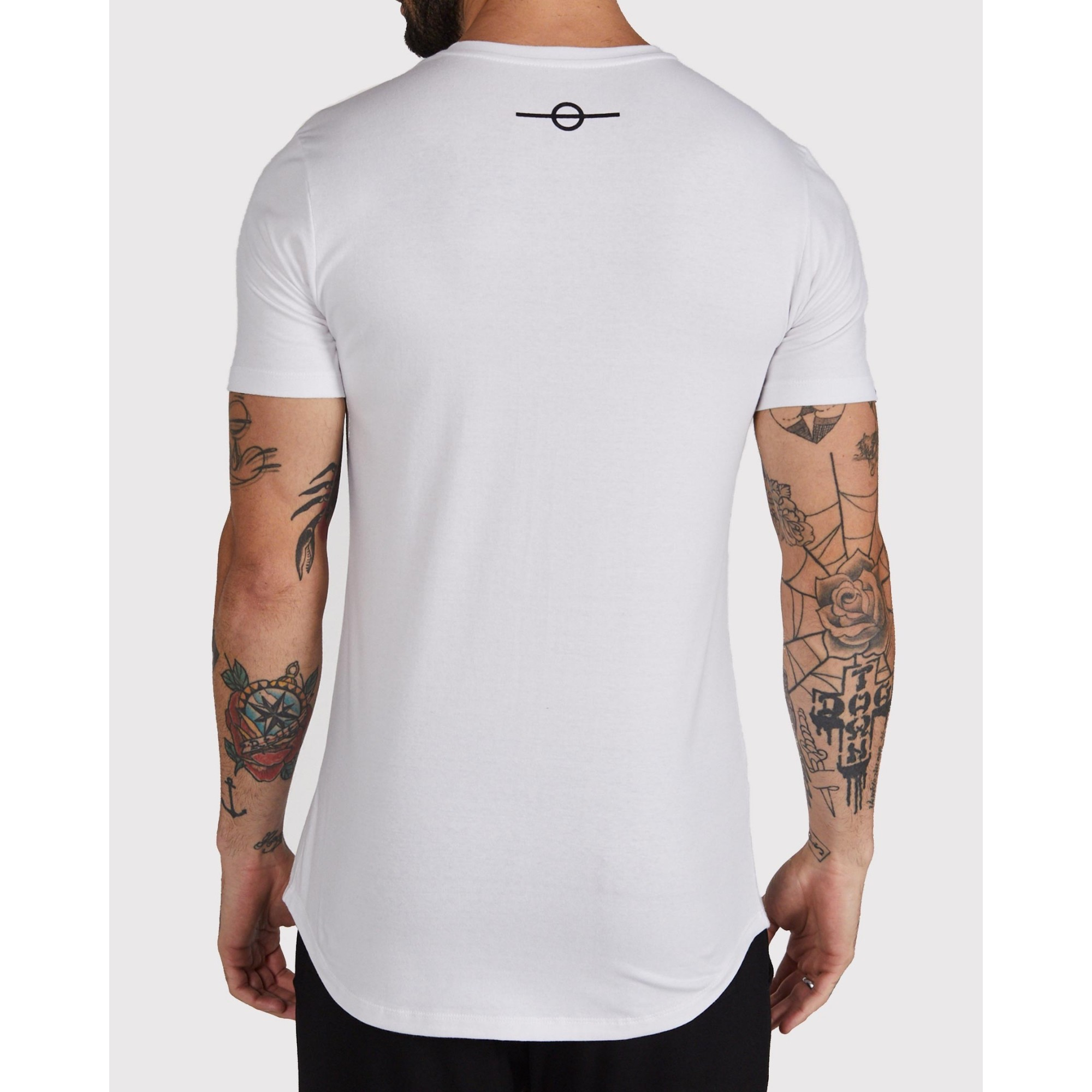 Camiseta Buh Camo Clouds White