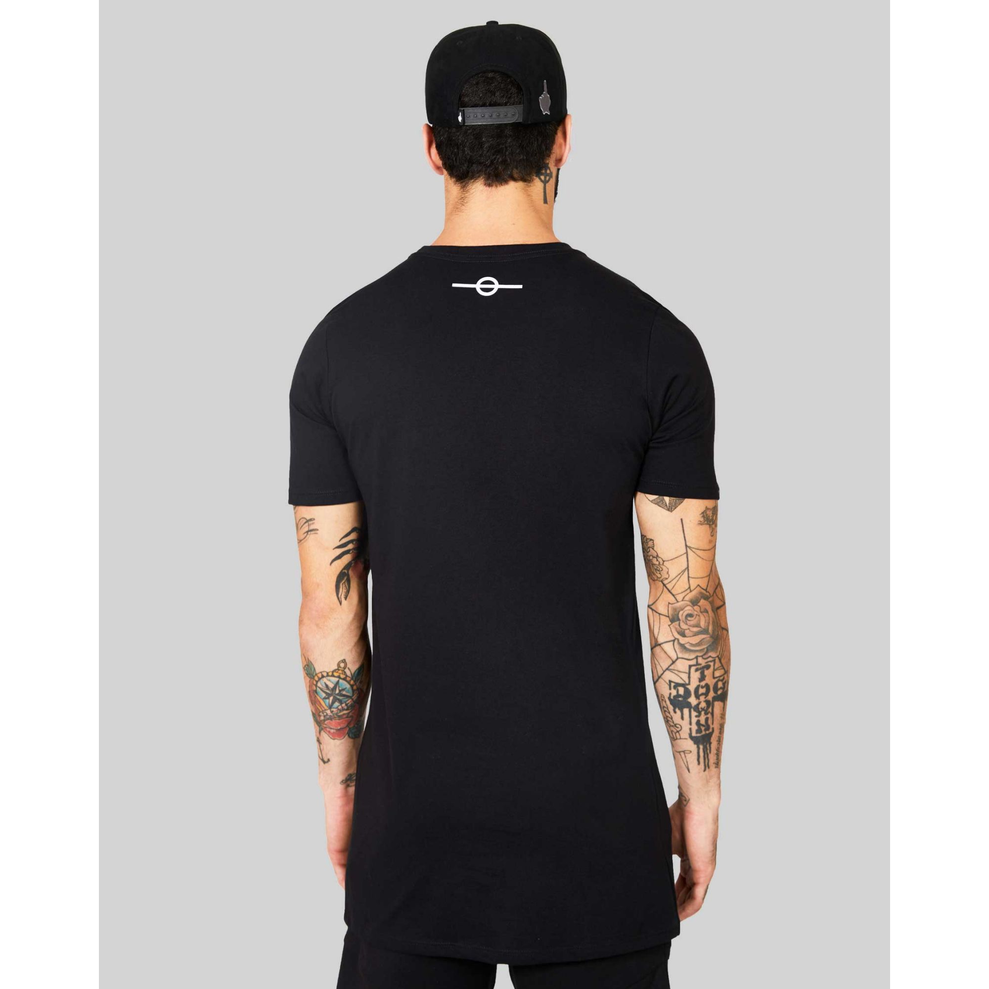 Camiseta Buh Camo Square Black