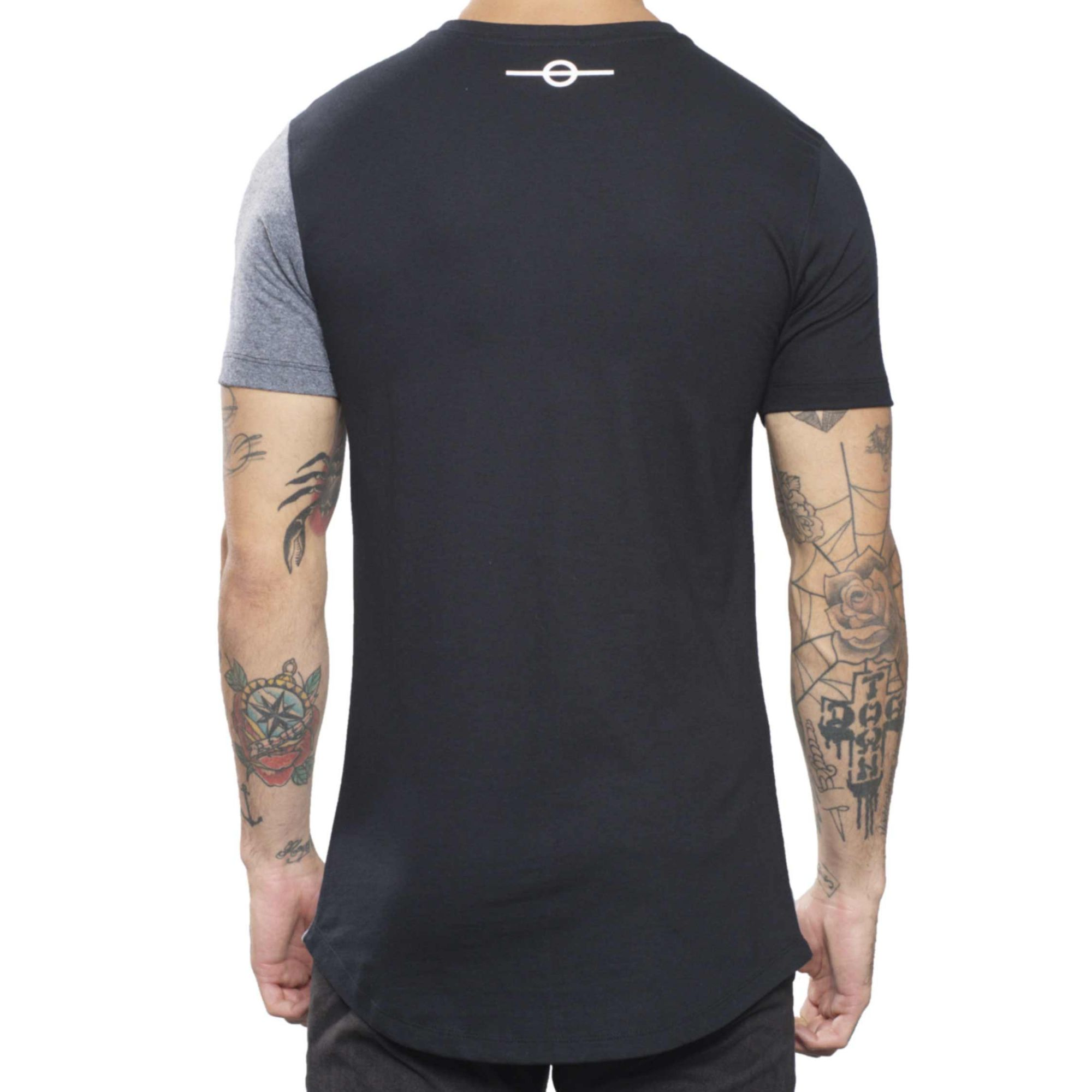Camiseta Buh Champion Grey & Black