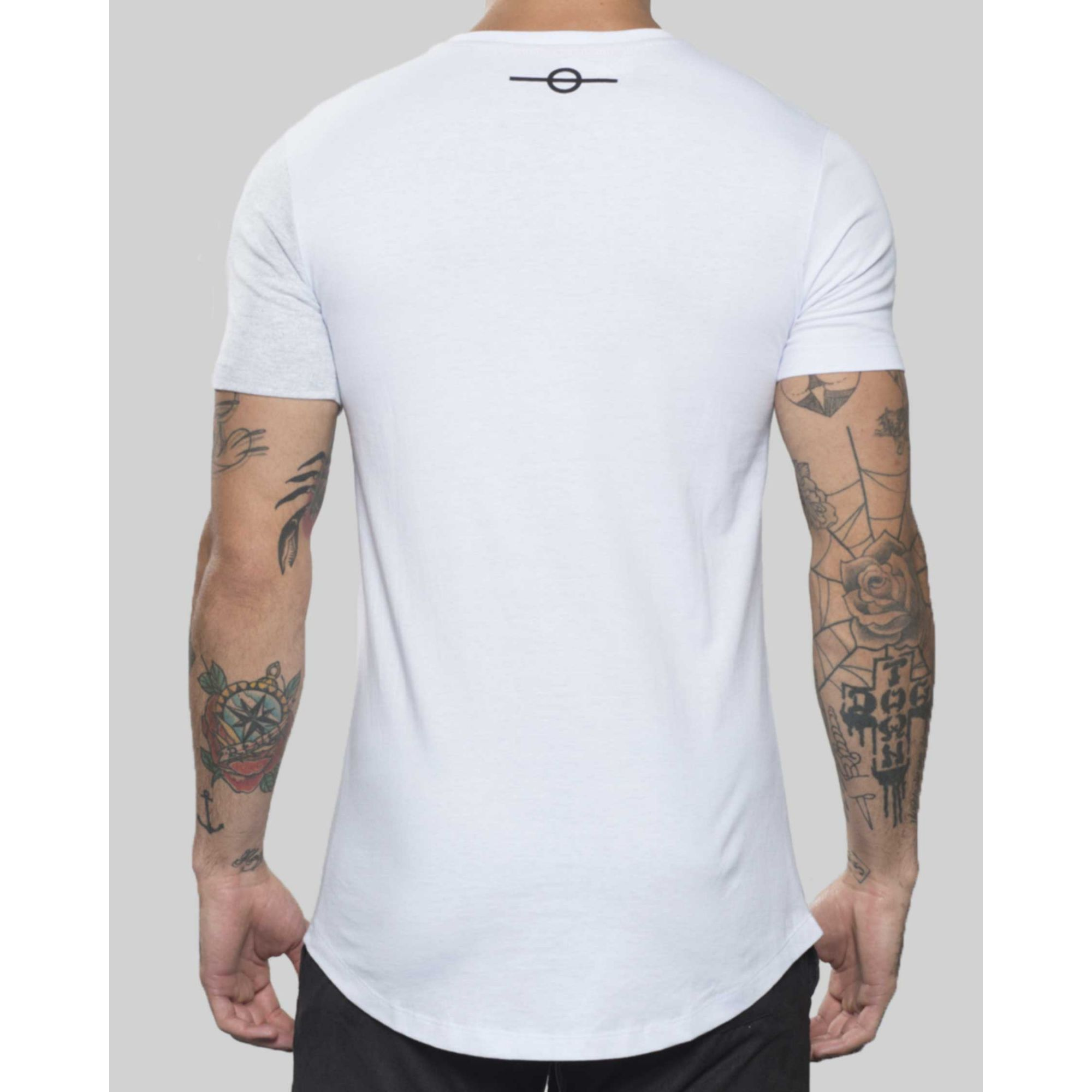 Camiseta Buh Champion White