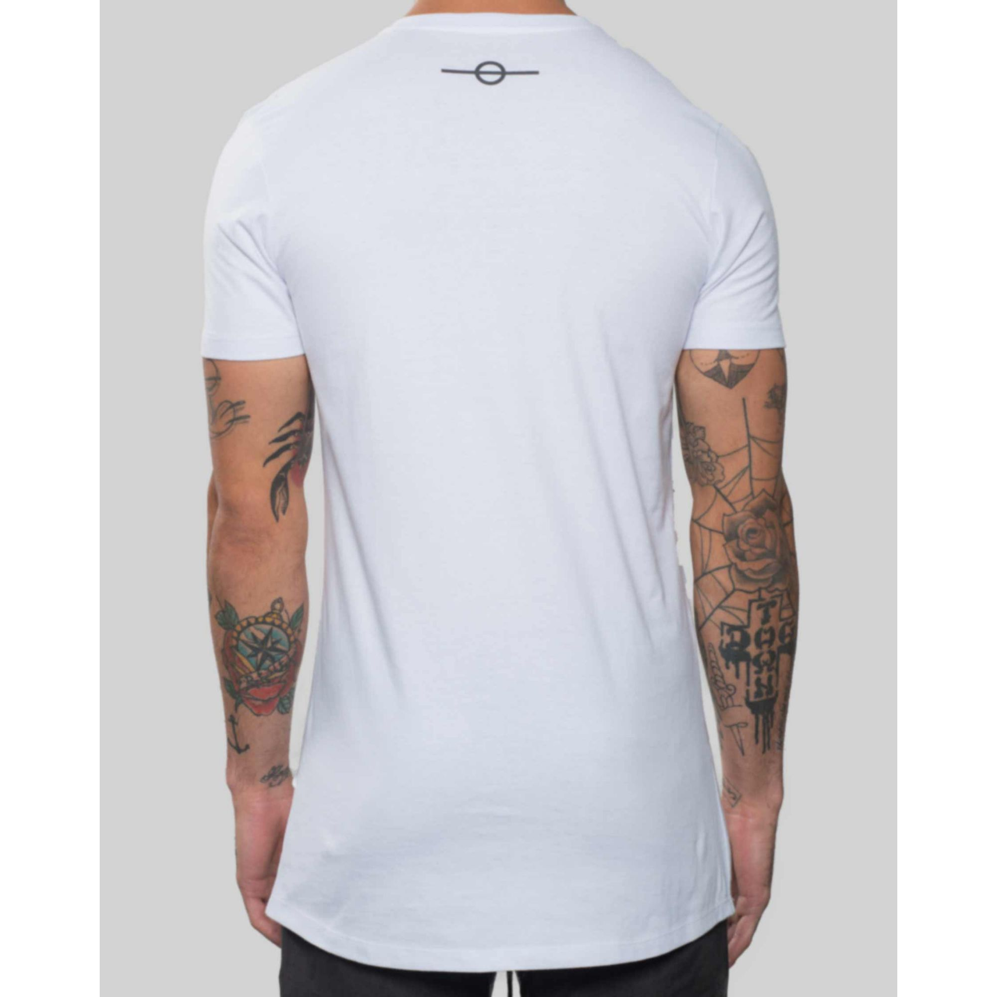 Camiseta Buh Chenile White