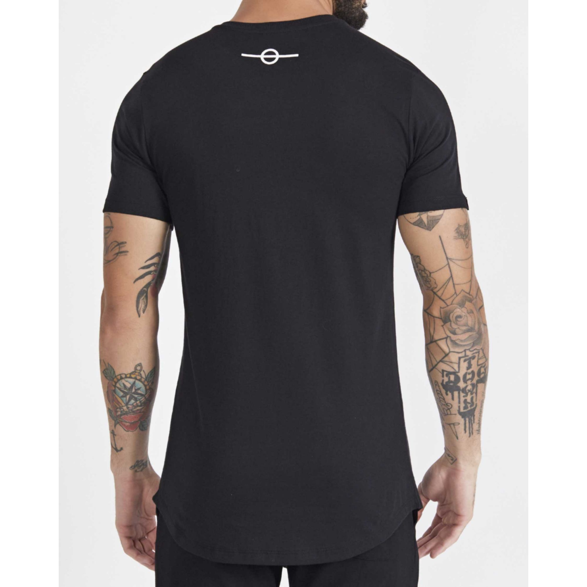 Camiseta Buh City Foil Black