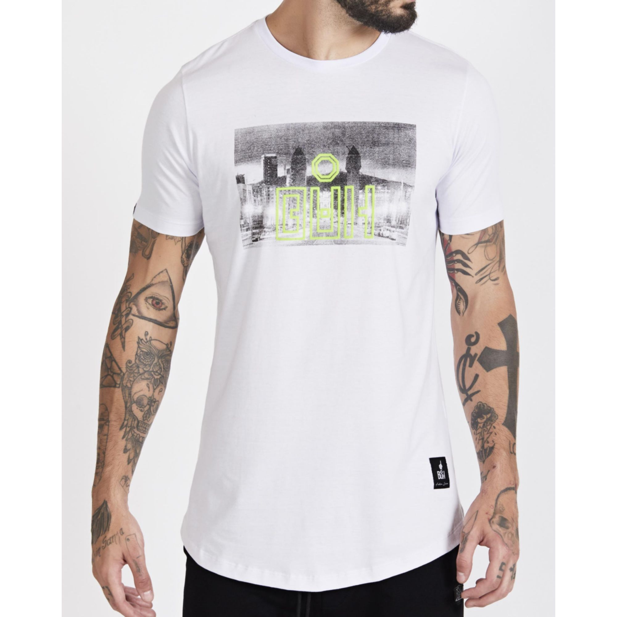 Camiseta Buh City White