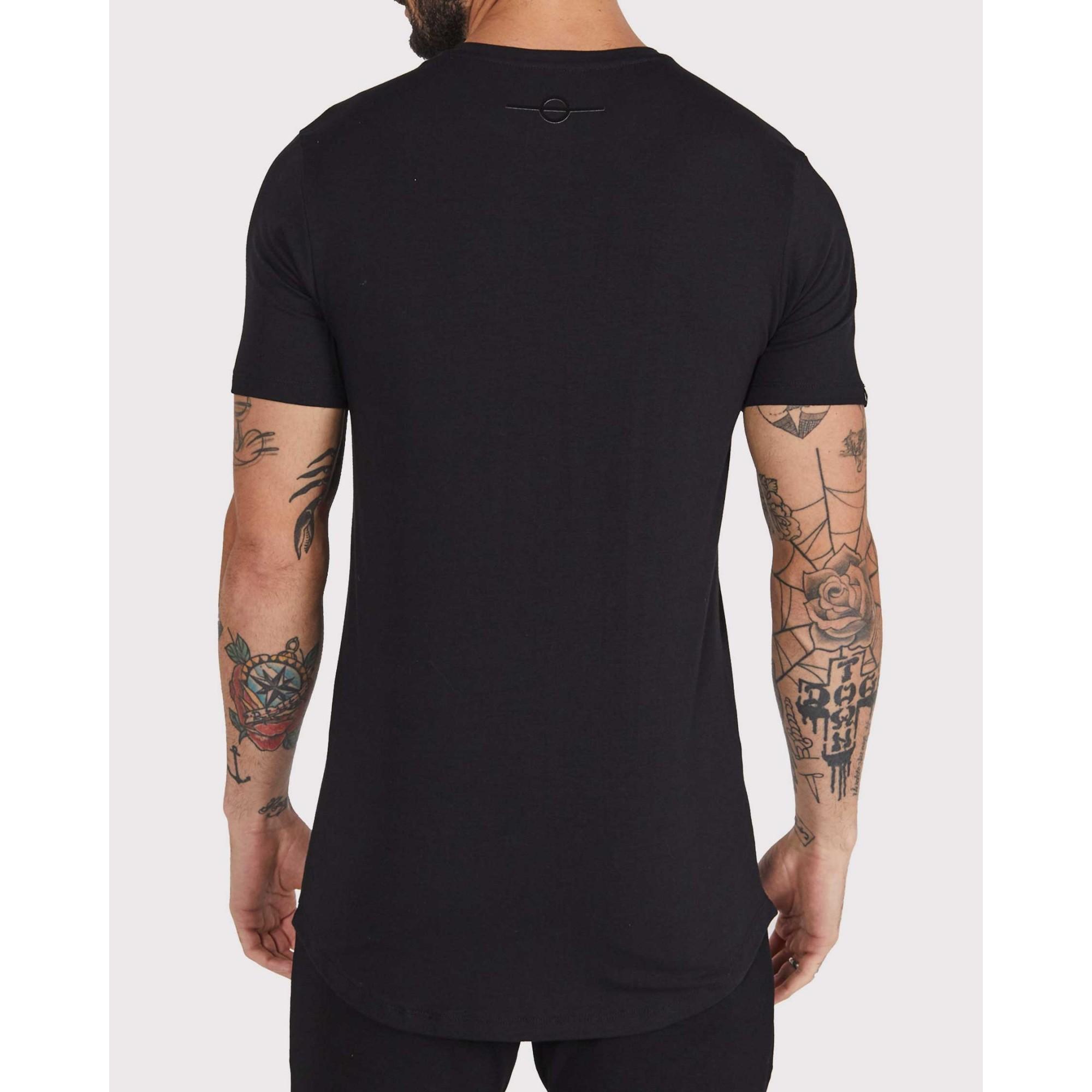Camiseta Buh Clouds Black