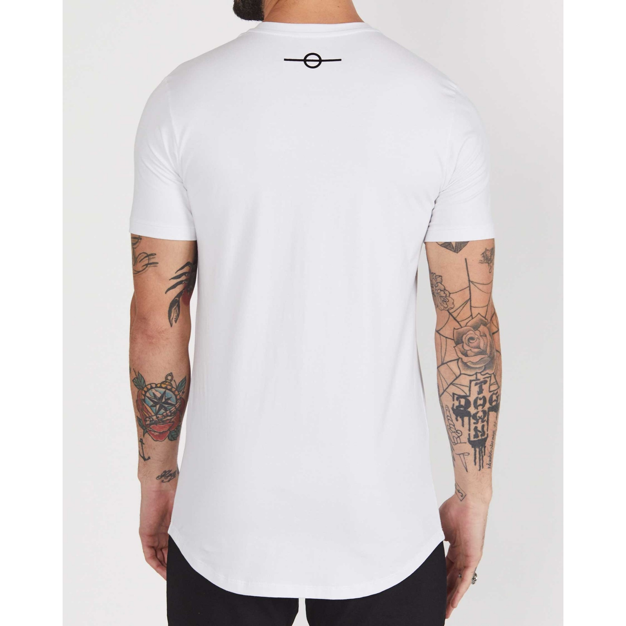Camiseta Buh Clouds White