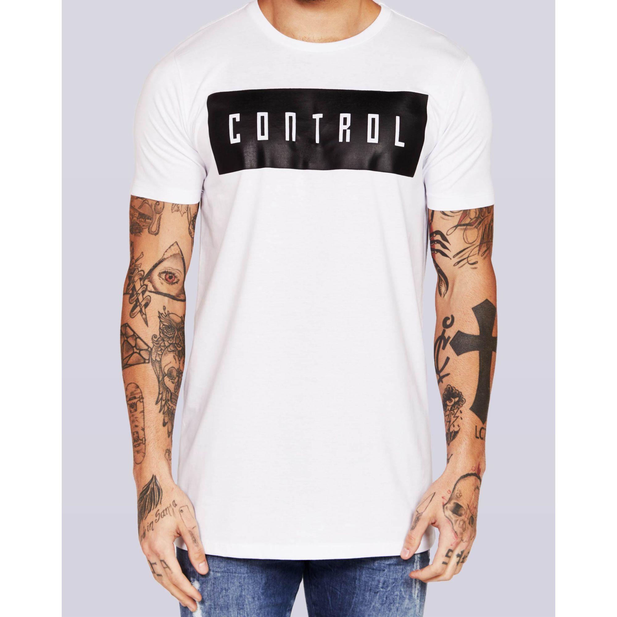 Camiseta Buh Control White