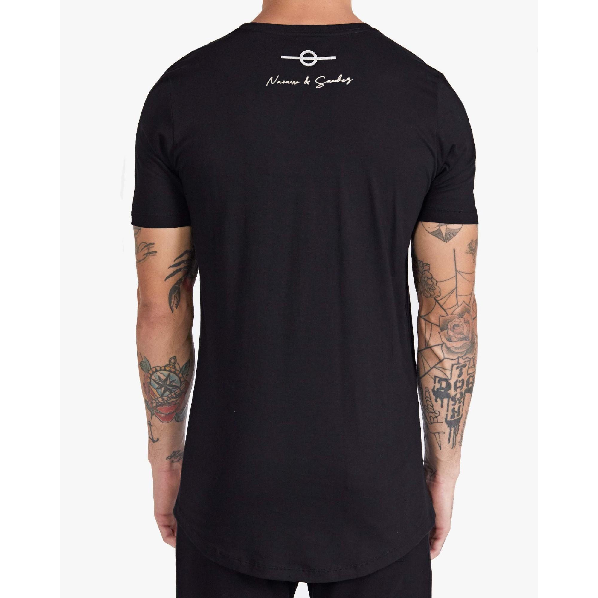 Camiseta Buh Cordão Penta Black